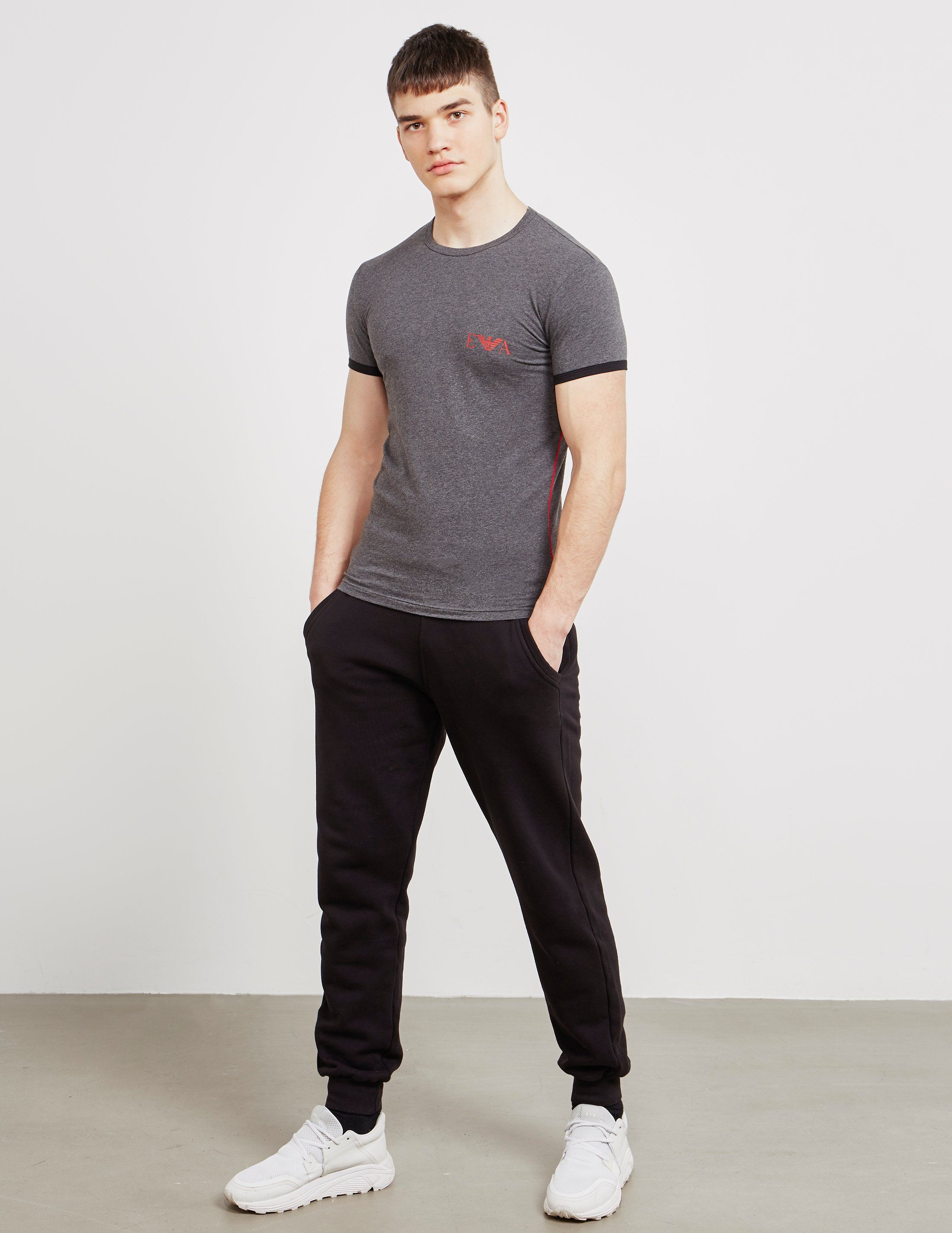 Emporio Armani Tipped Short Sleeve T-Shirt