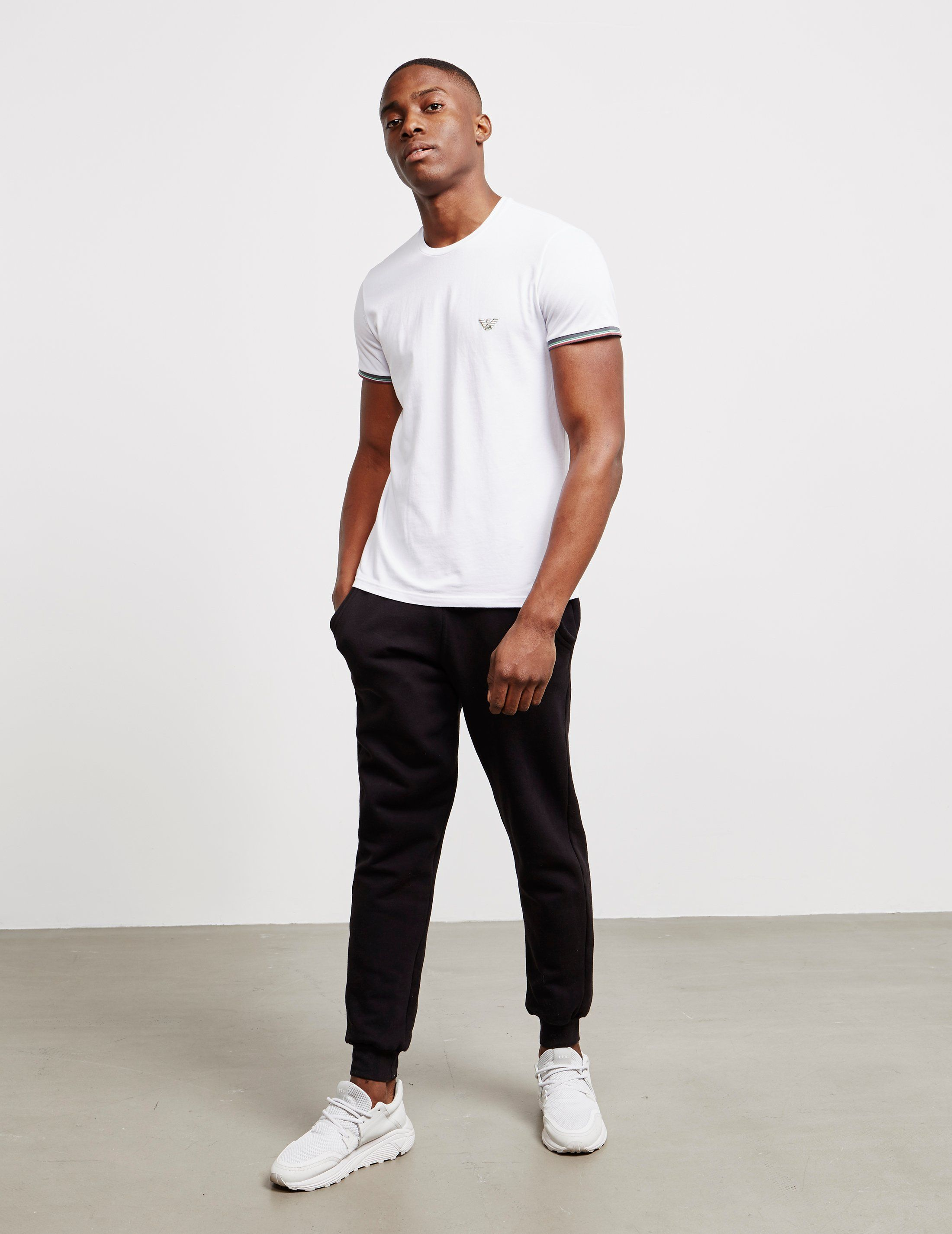 Emporio Armani Cuffed Short Sleeve T-Shirt