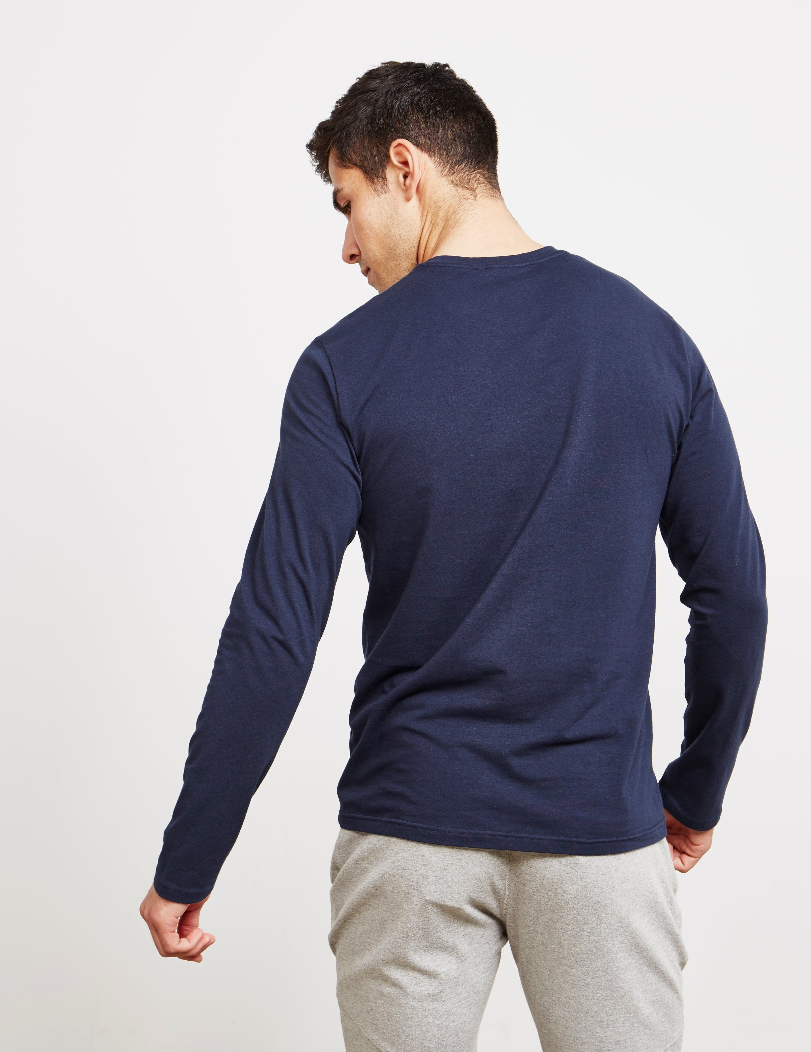 Emporio Armani Eagle Logo Long Sleeve T-Shirt