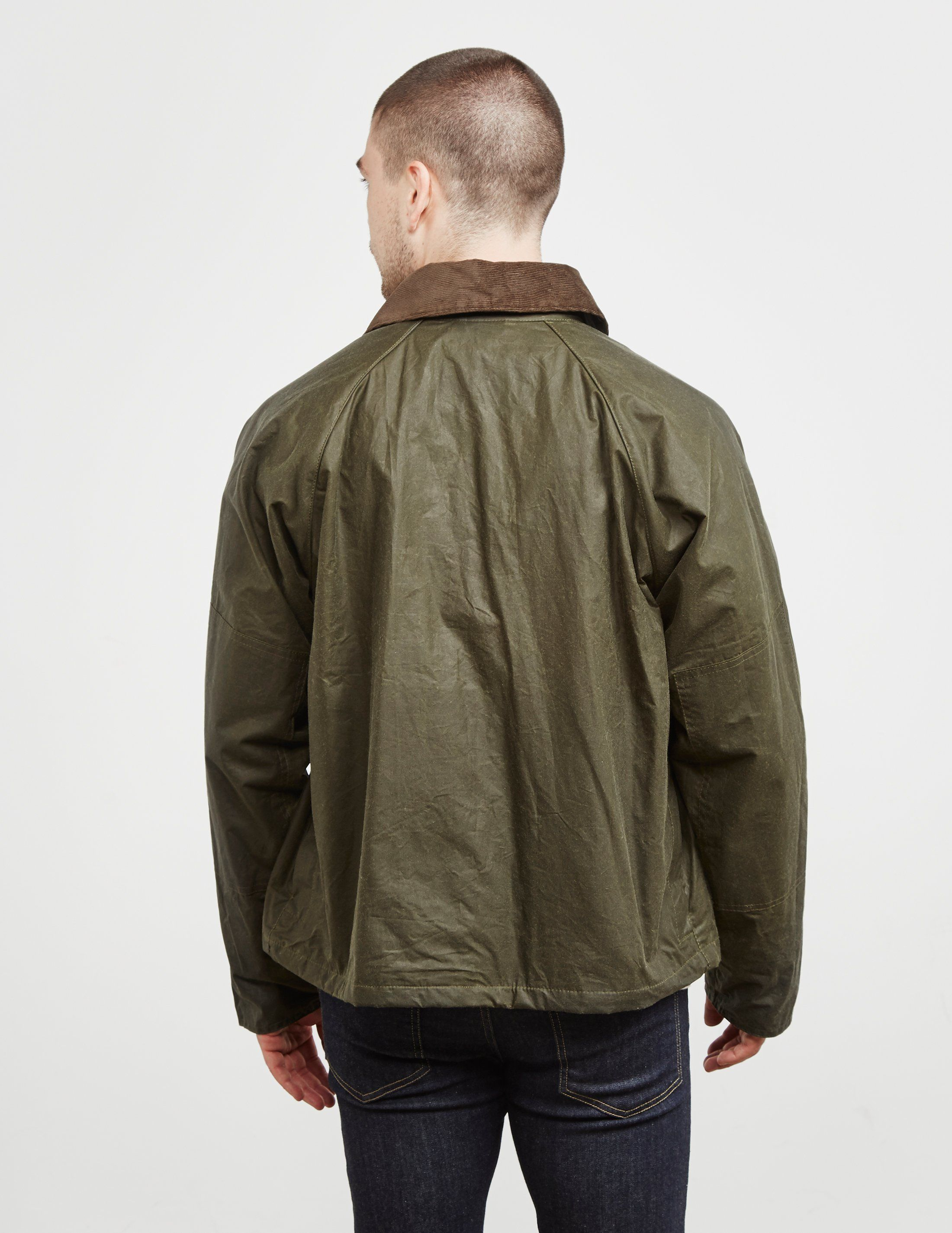Barbour x Engineered Garments Graham Waxed Blouson Jacket