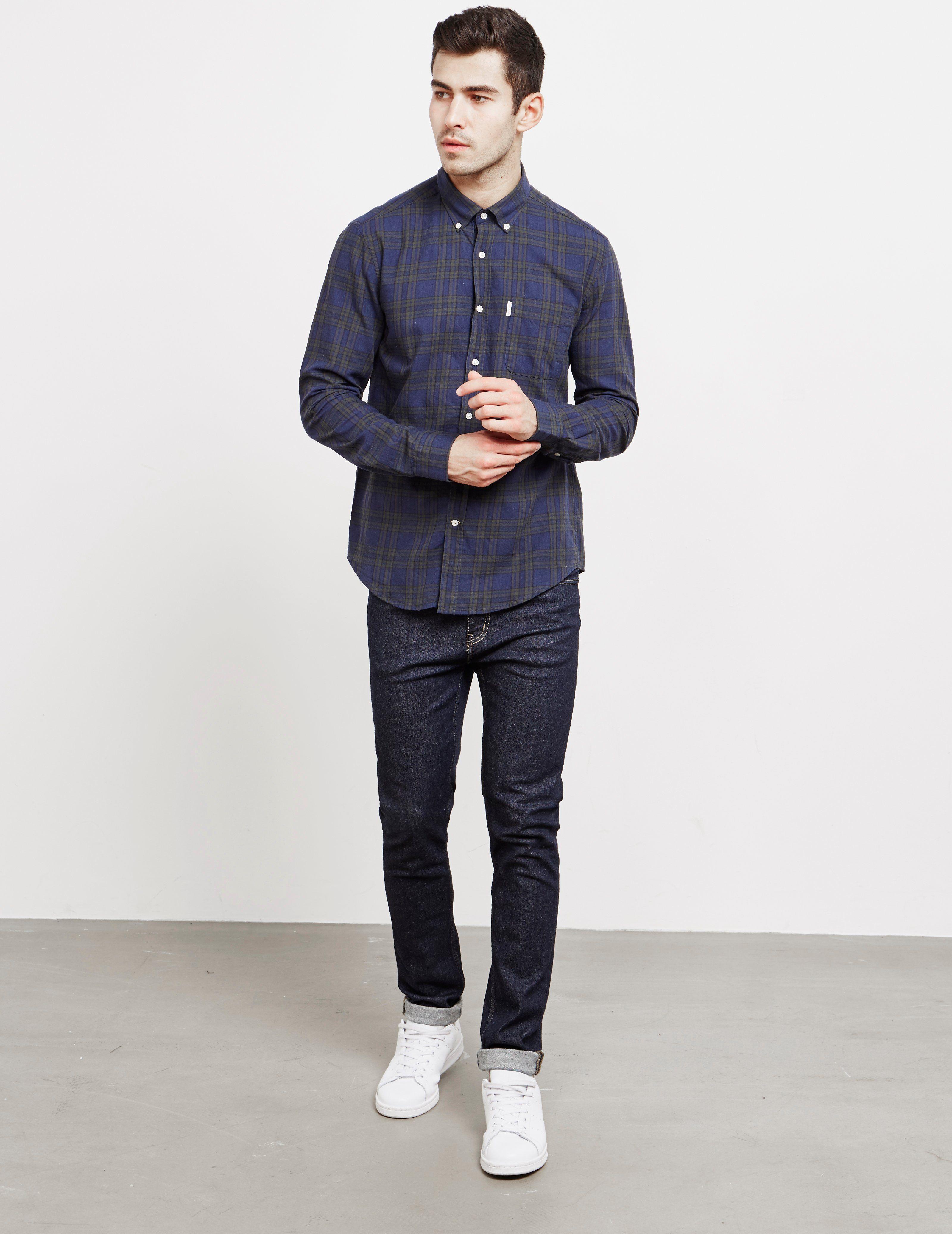 Barbour Plaid Long Sleeve Shirt