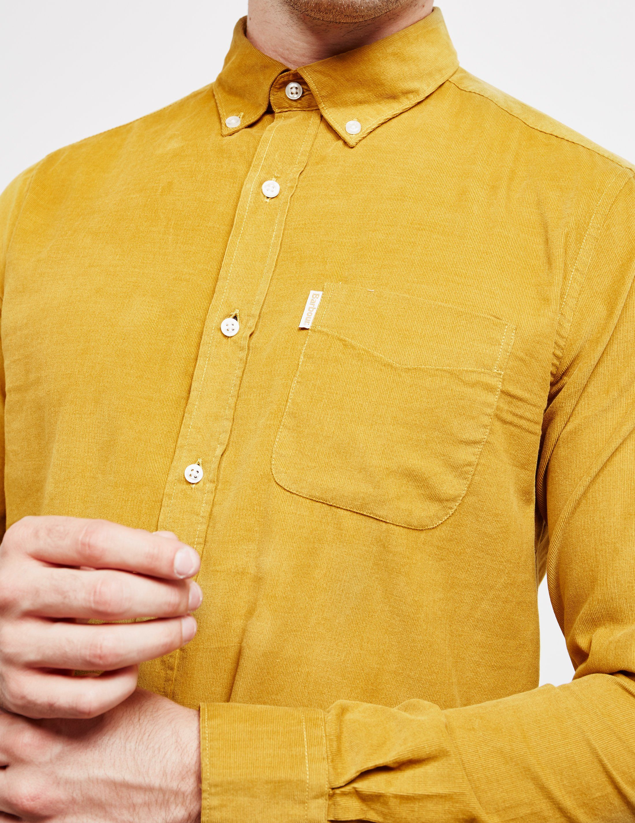 Barbour Cord Long Sleeve Shirt - Online Exclusive