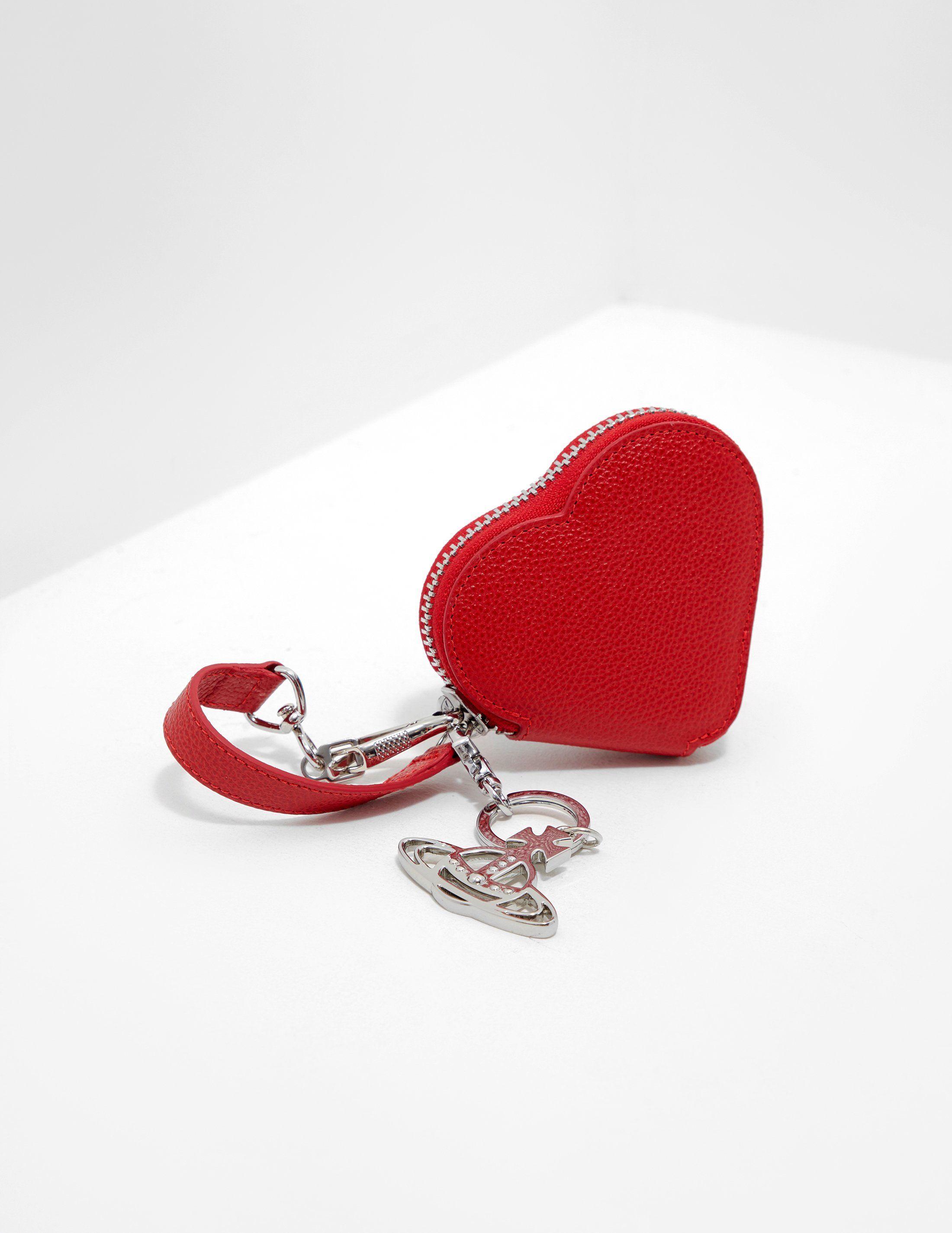 Vivienne Westwood Anglomania Johanna Heart Purse