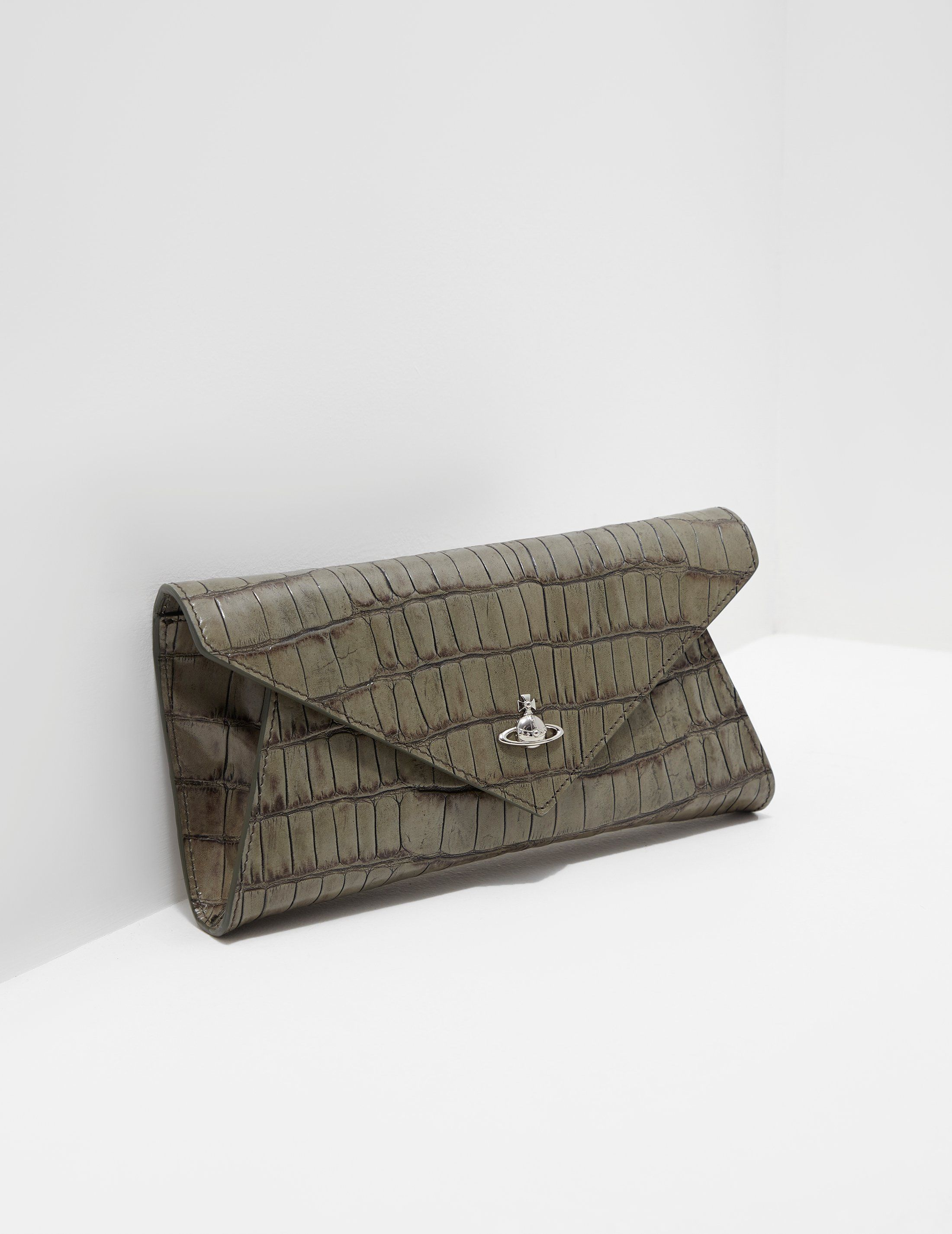 Vivienne Westwood Lisa Croc Envelope Clutch Bag - Online Exclusive