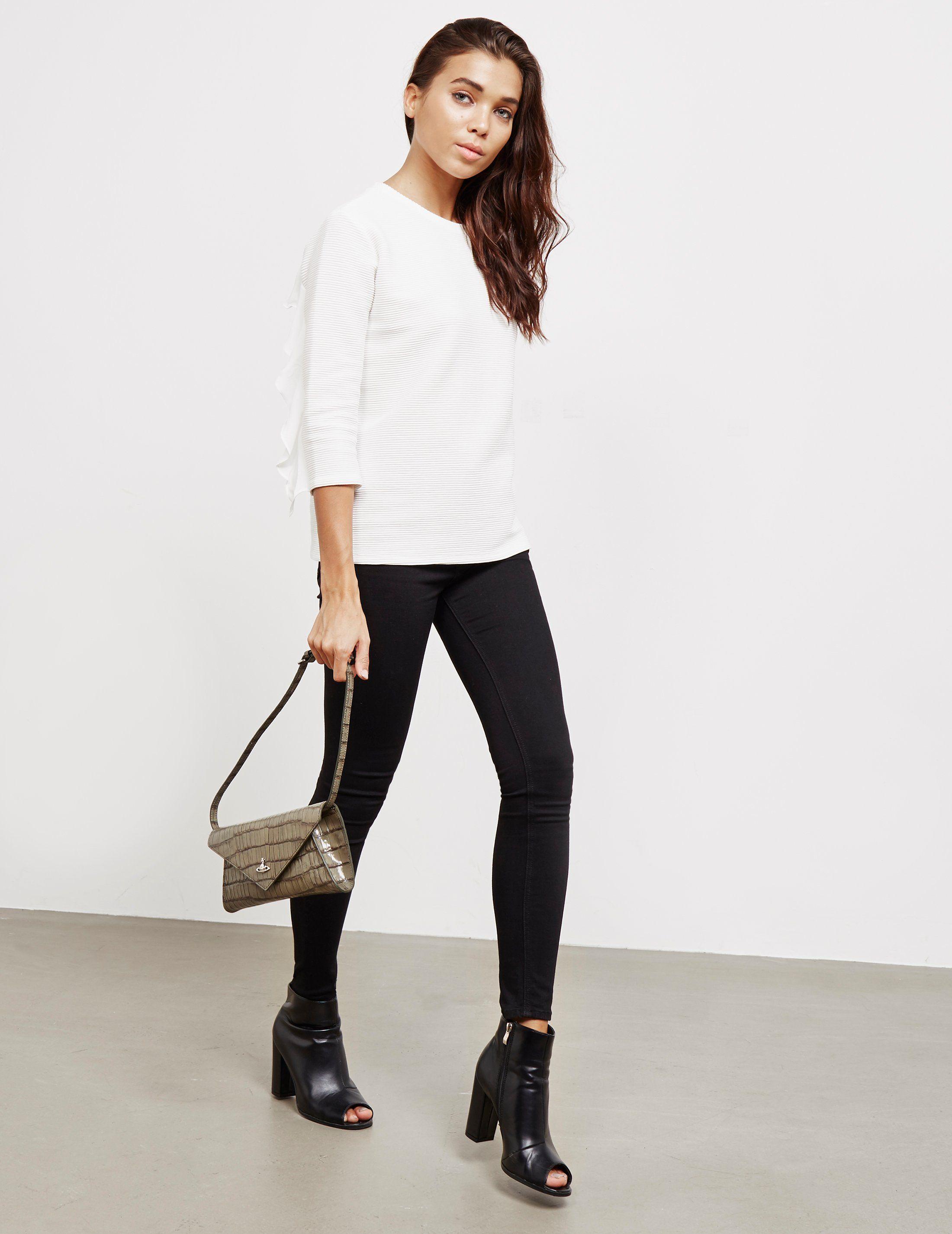 Vivienne Westwood Lisa Croc Envelope Clutch Bag - Online Exclusive