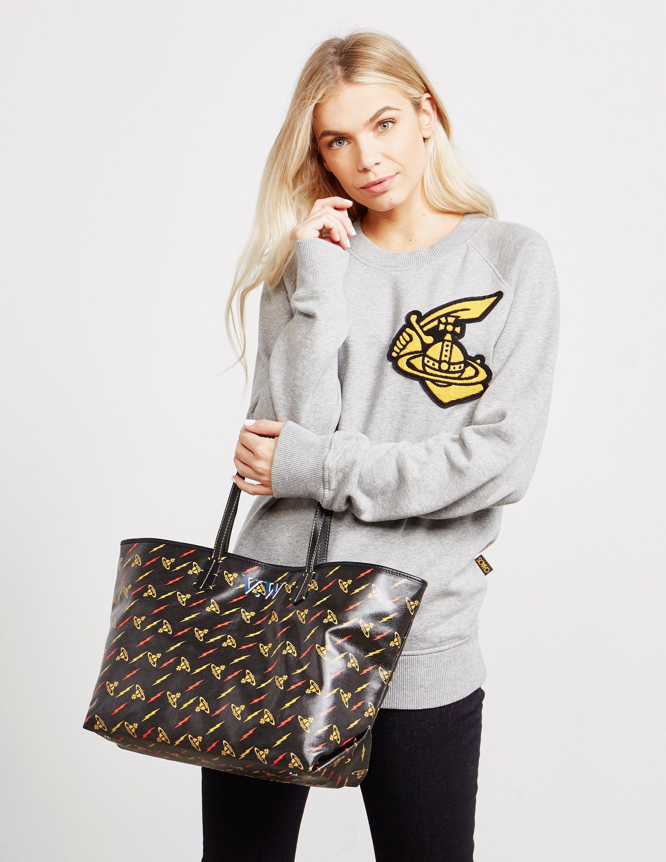 Vivienne Westwood Collette Orb Shopper Bag