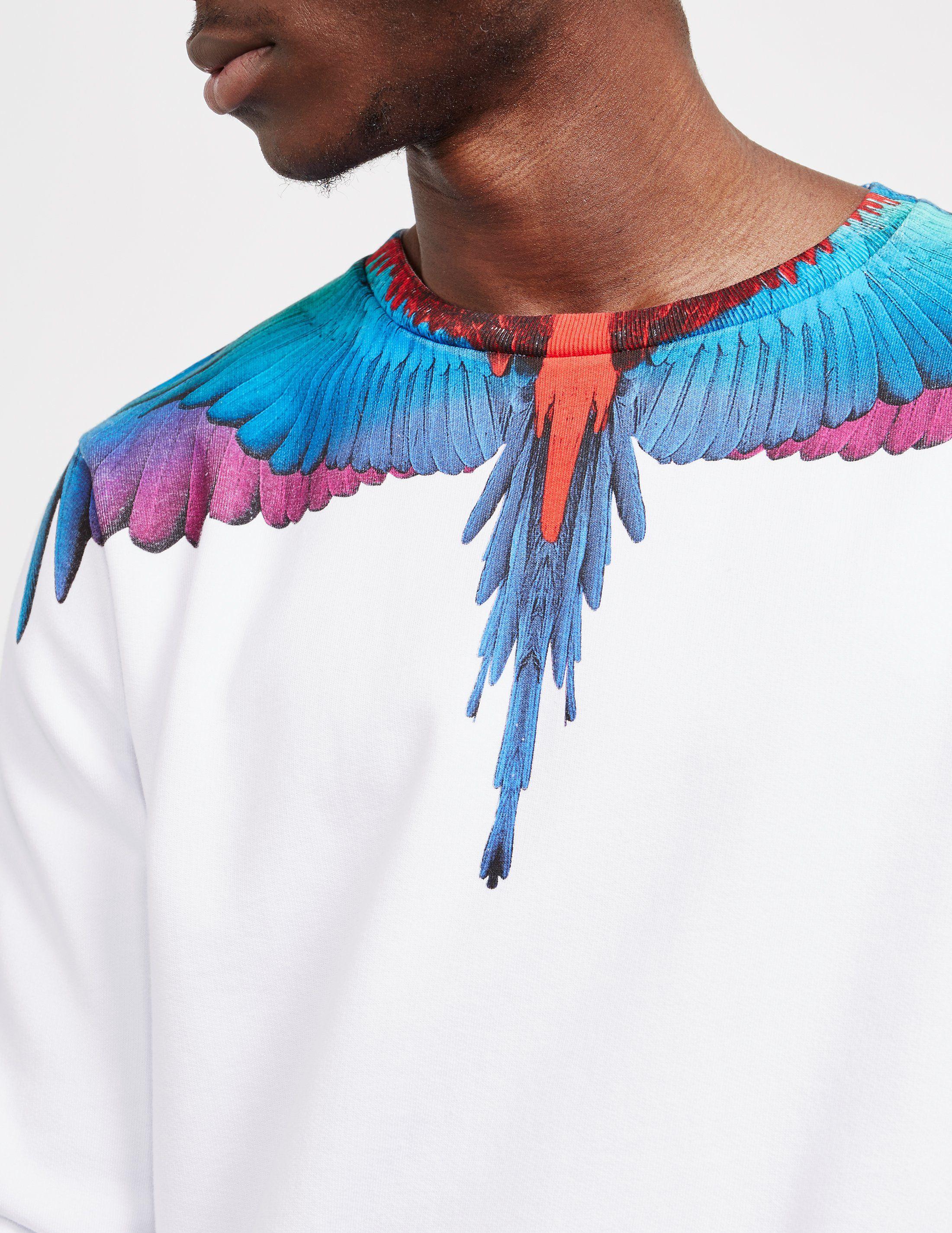 Marcelo Burlon Wing Crew Neck Sweatshirt