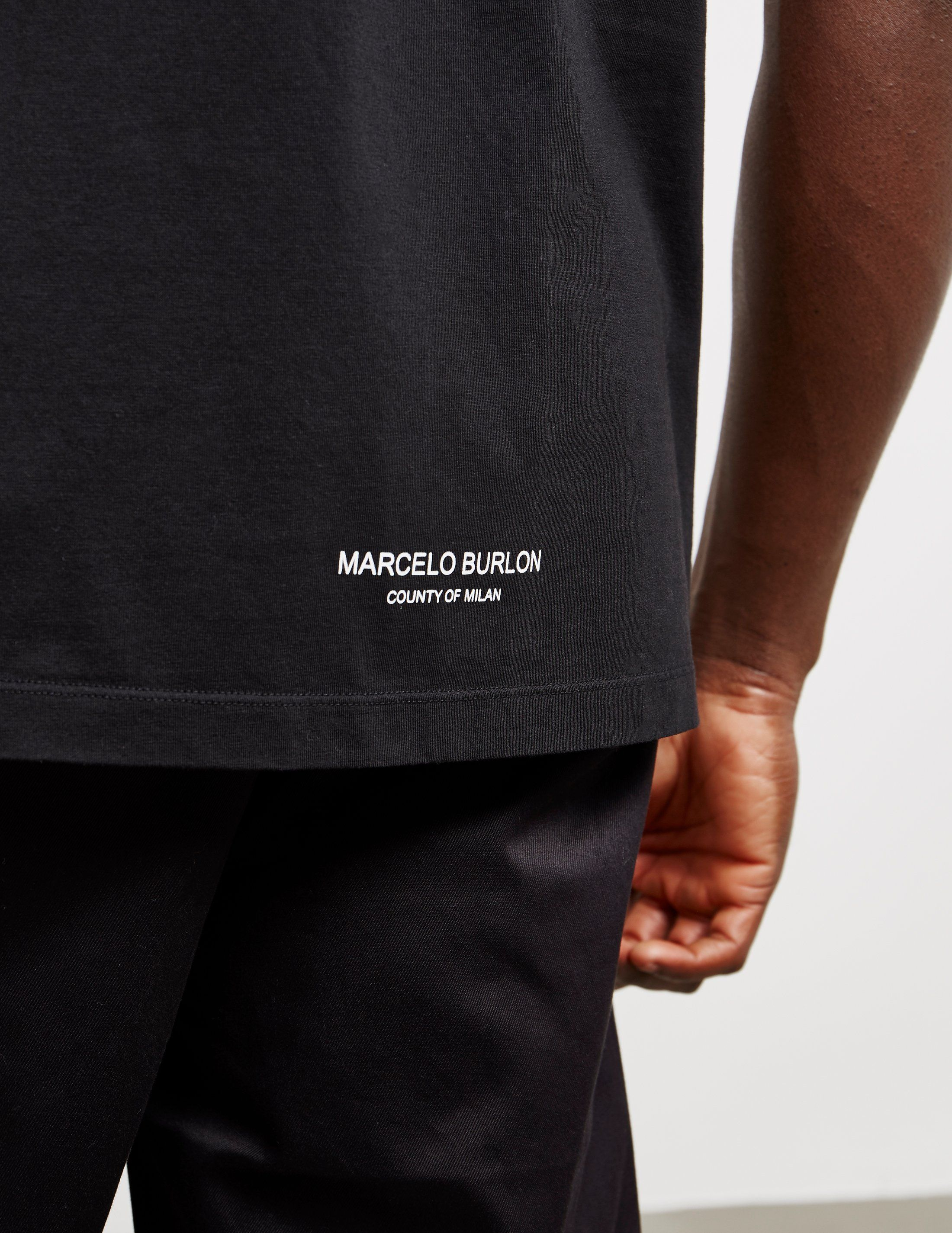 Marcelo Burlon LA Dodgers Short Sleeve T-Shirt - Online Exclusive