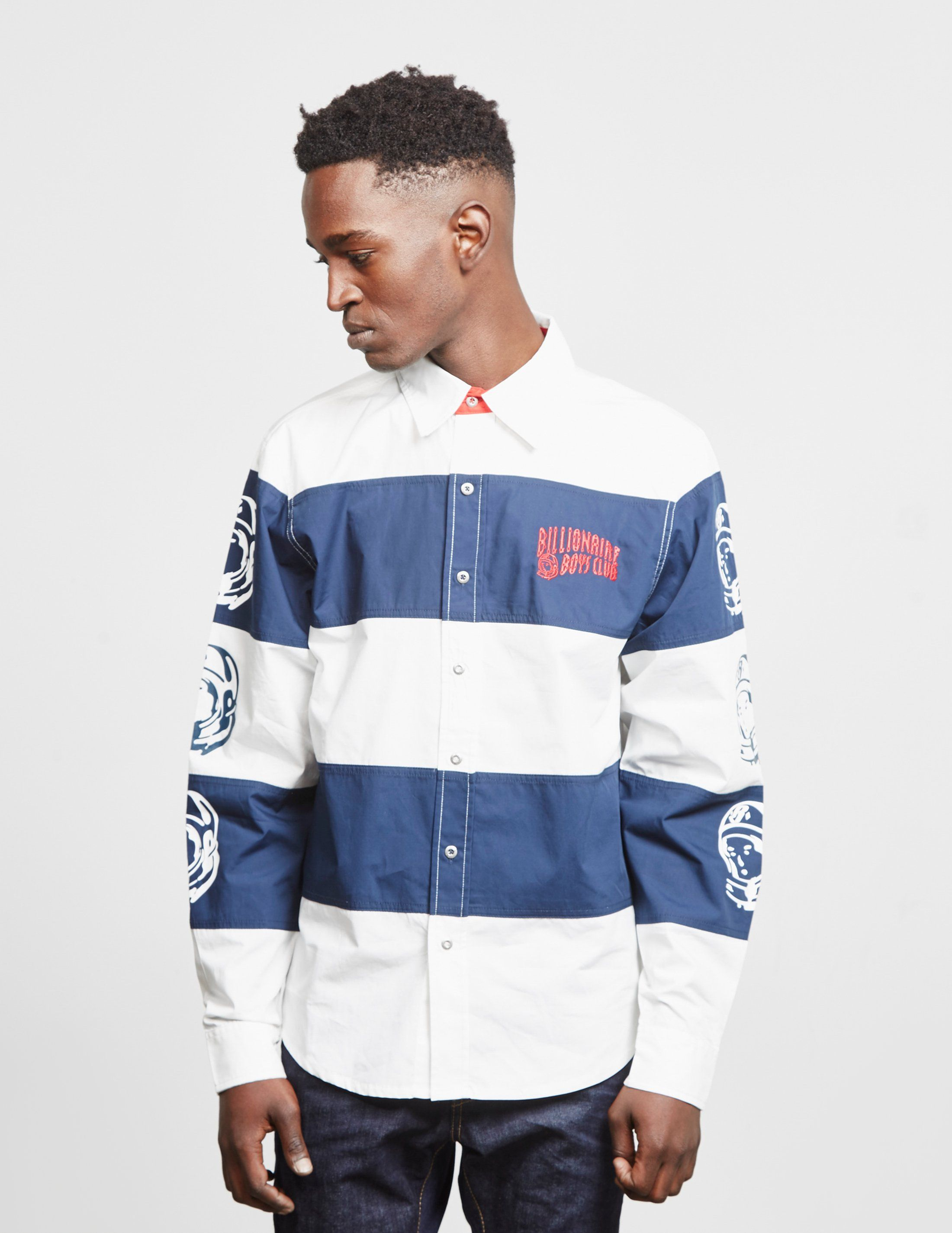 Billionaire Boys Club Stripe Long Sleeve Shirt - Online Exclusive