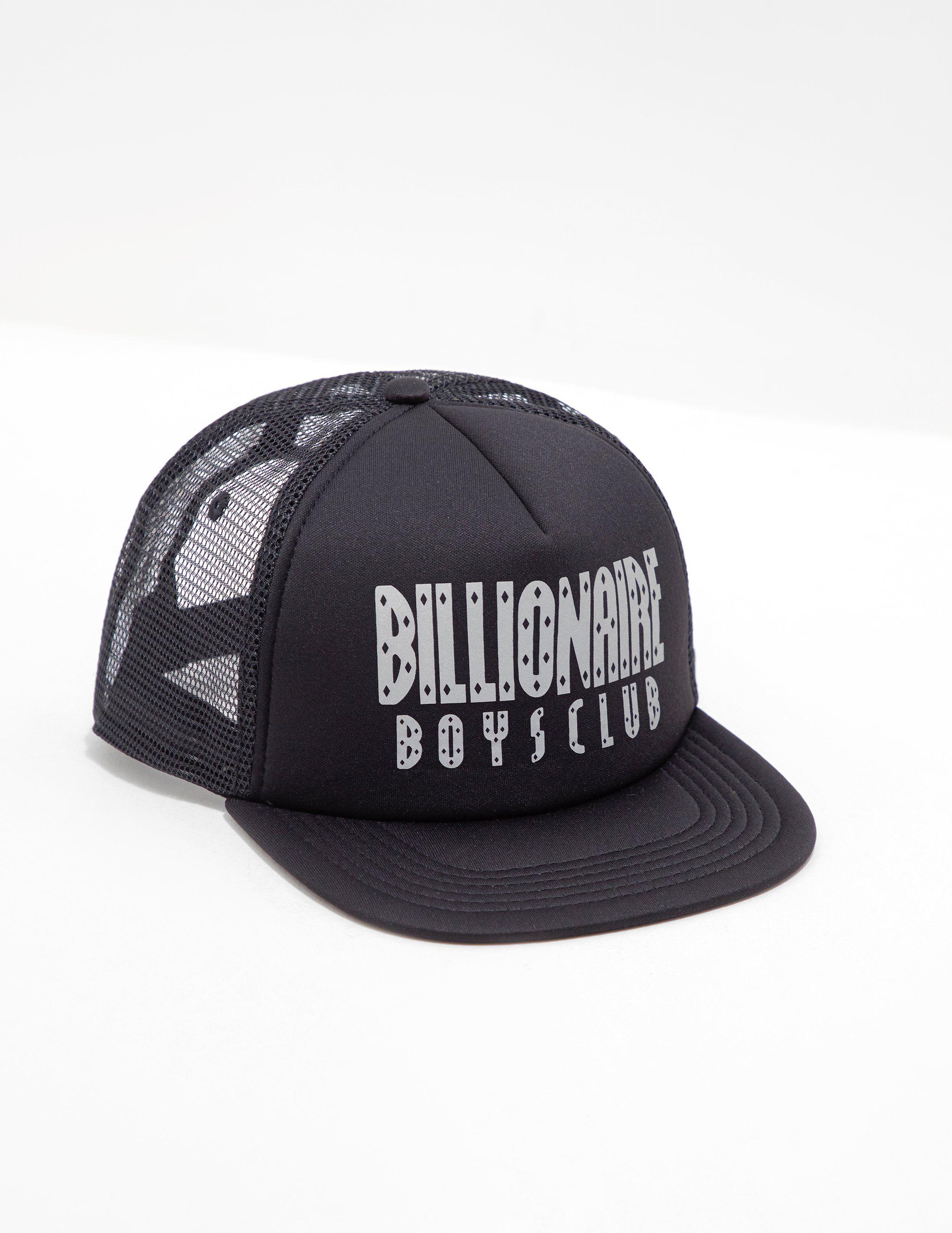Billionaire Boys Club Logo Trucker Cap