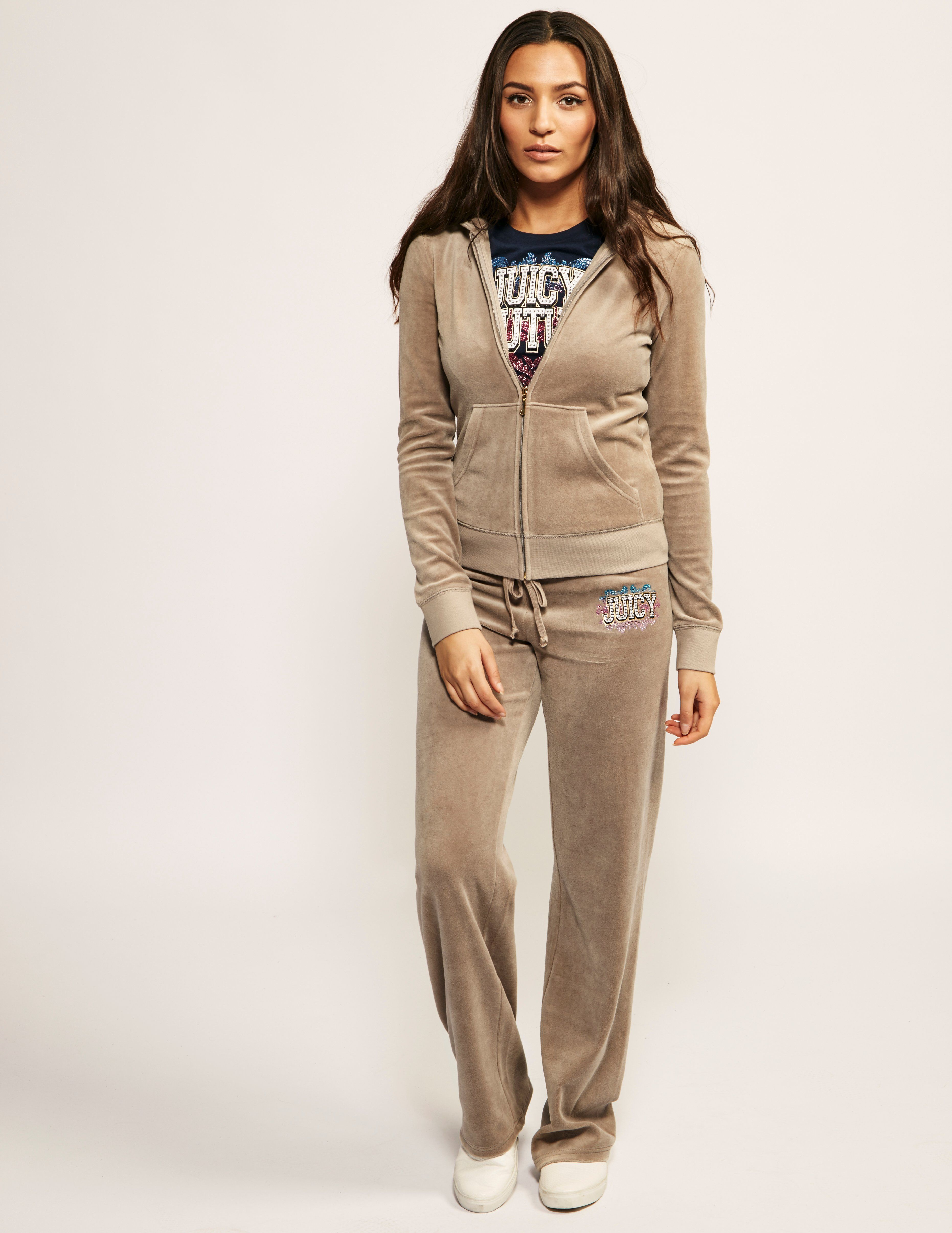 Juicy Couture Collegiate Logo Track Pants