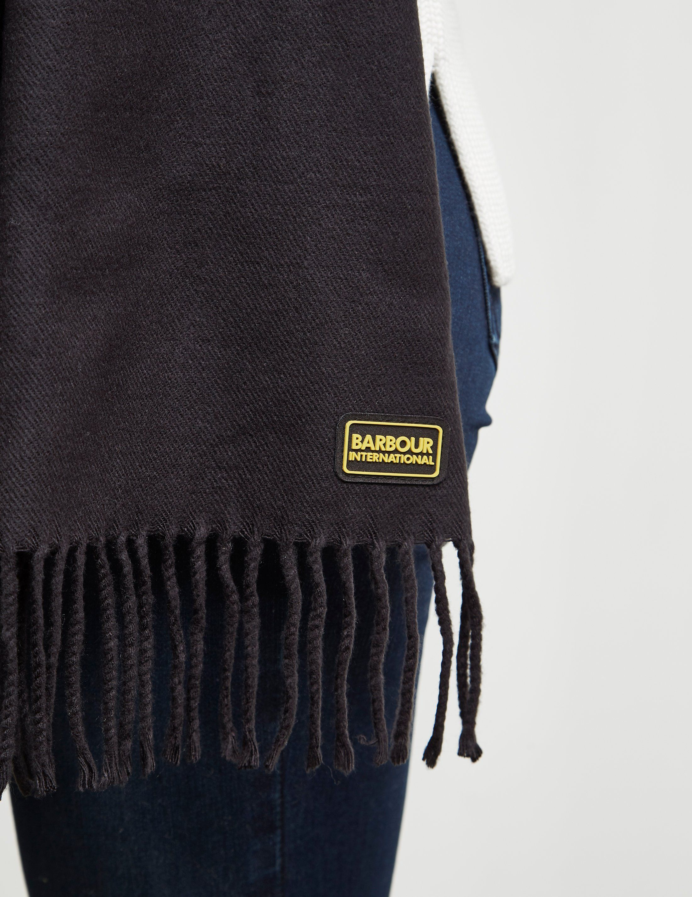 Barbour International Logo Scarf