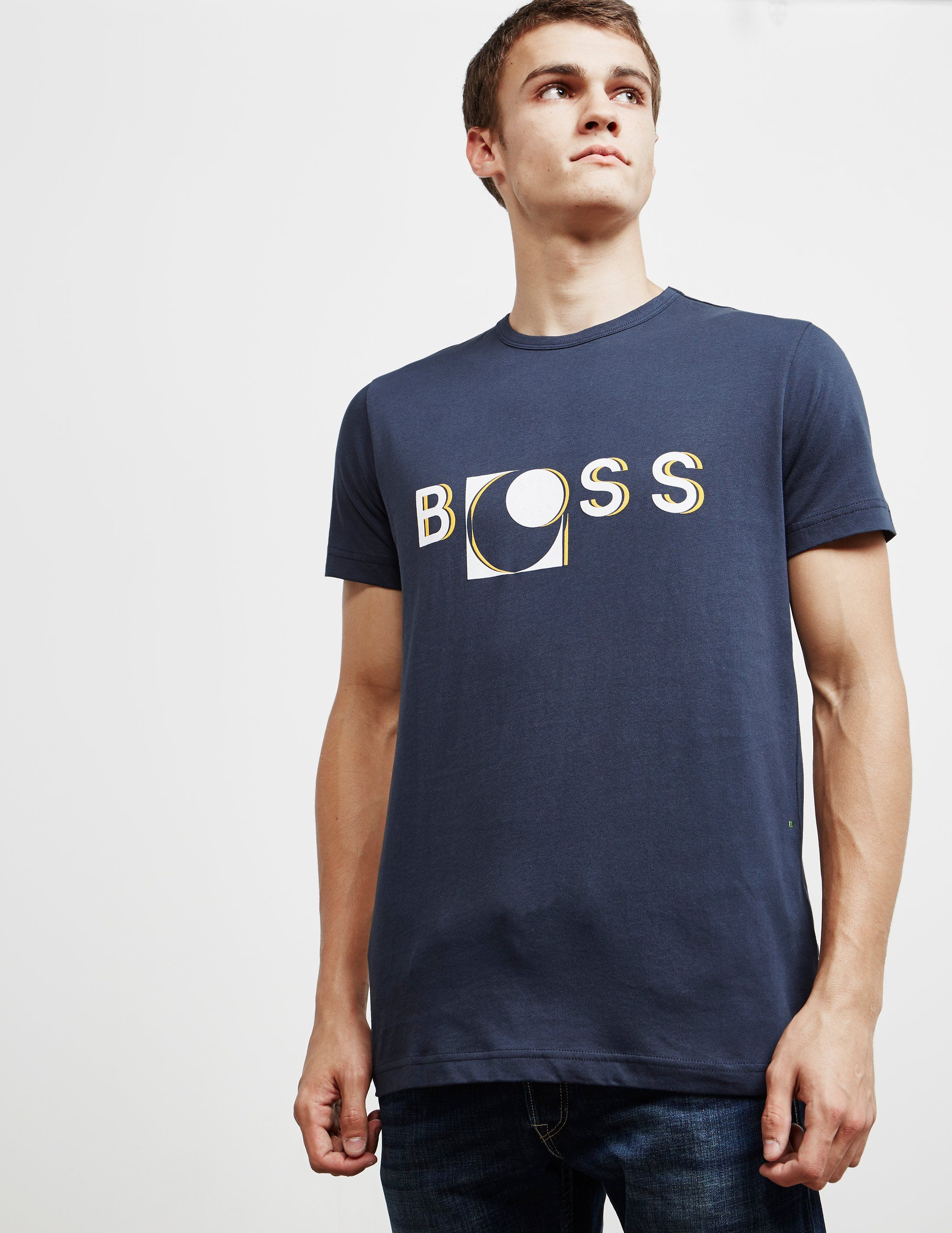 BOSS 3D Logo Short Sleeve T-Shirt