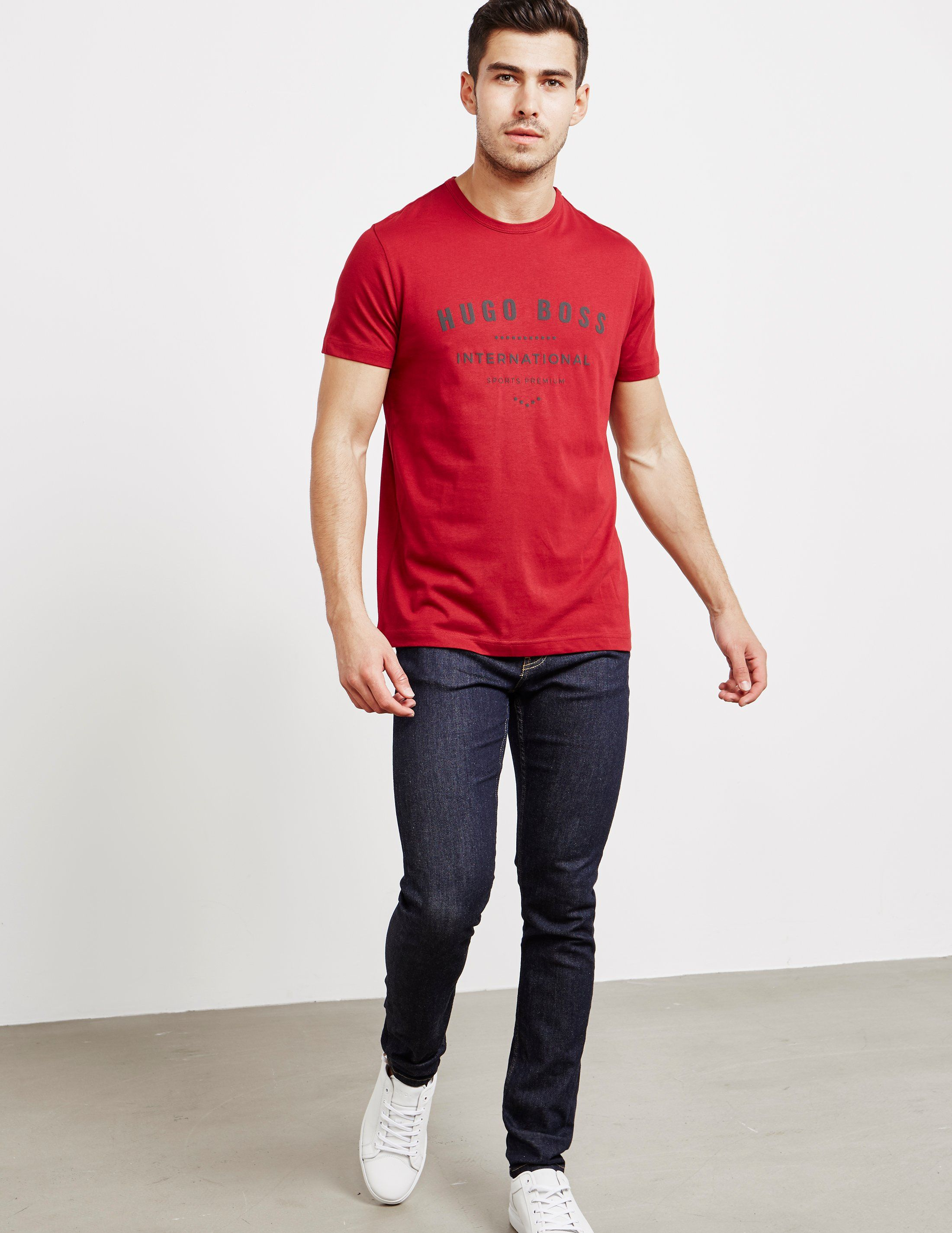 BOSS Print Logo Short Sleeve T-Shirt