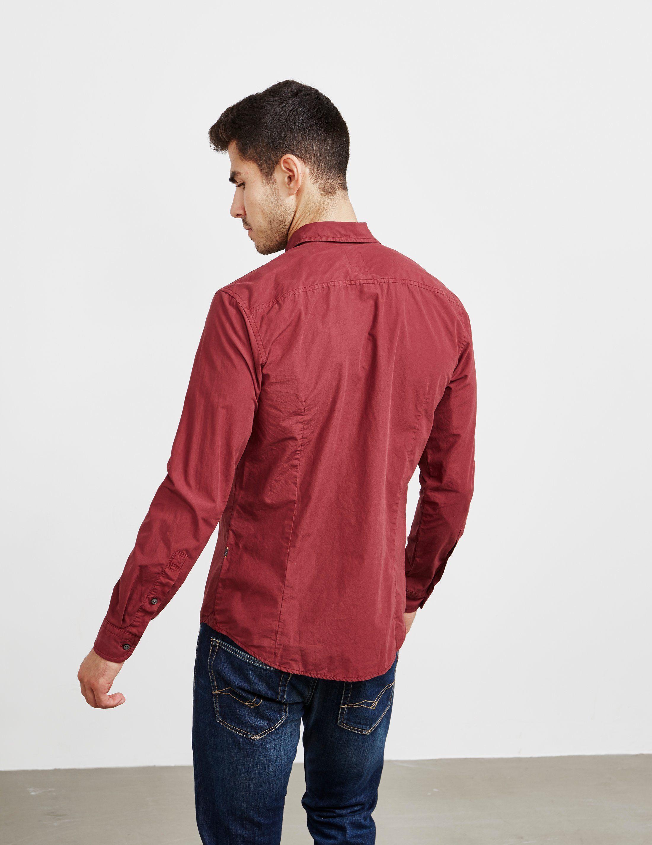 BOSS My Poplin Long Sleeve Shirt