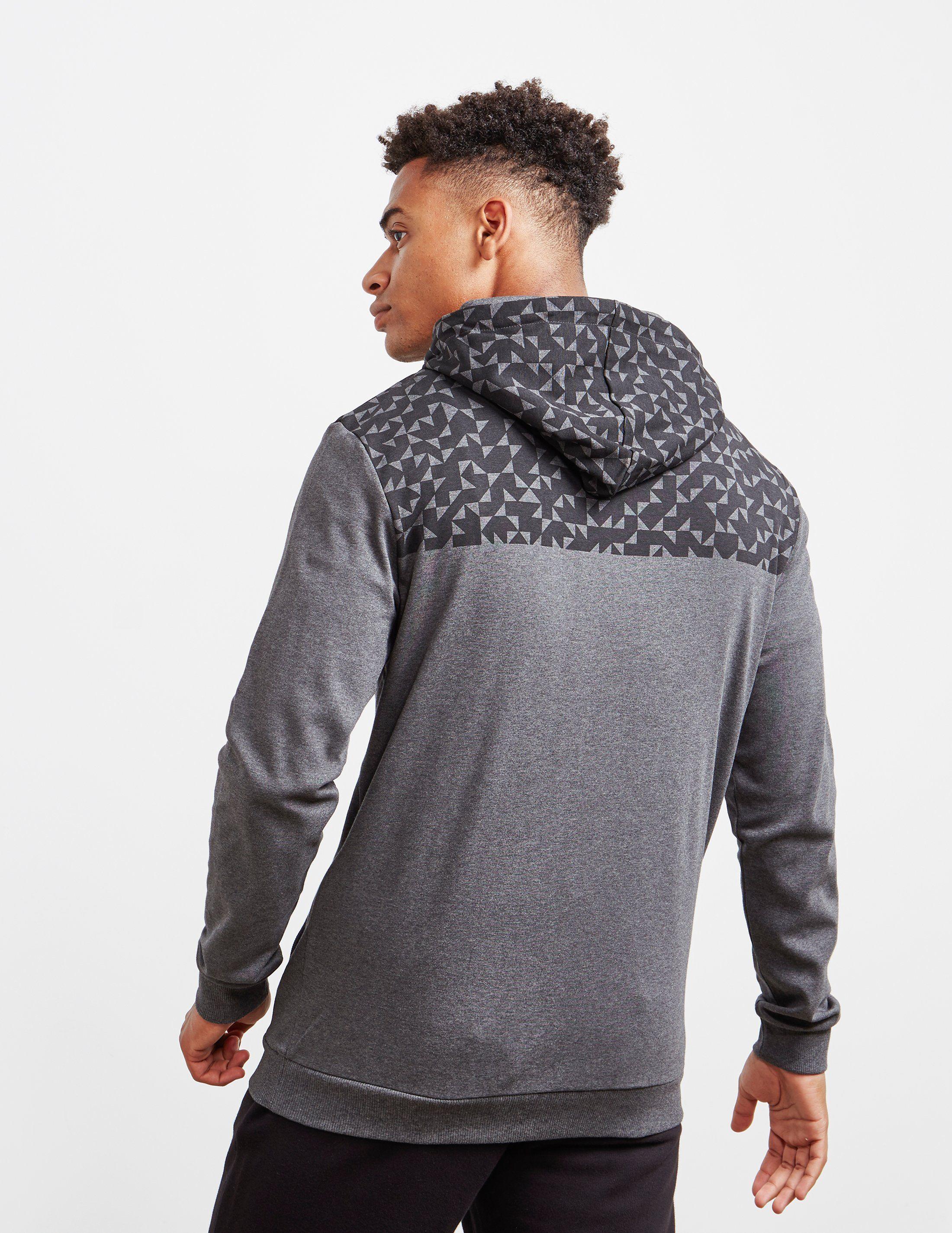 BOSS Tri Print Full Zip Hoodie