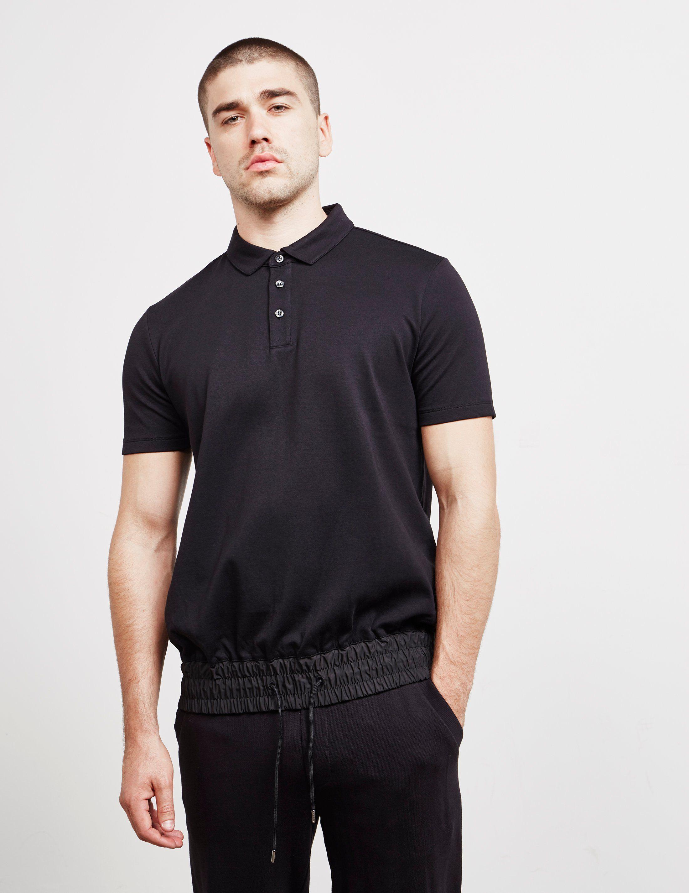 HUGO Adjustable Short Sleeve Polo Shirt