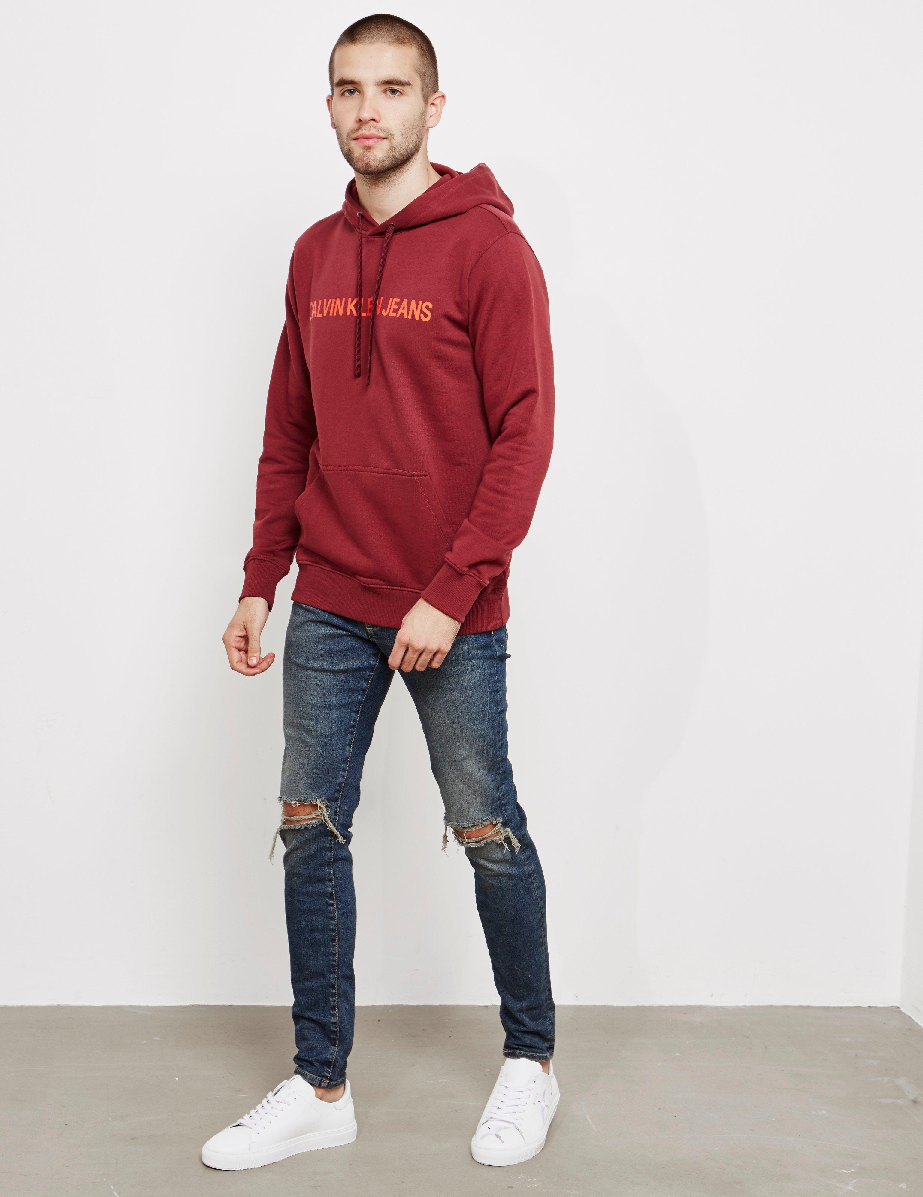 Calvin Klein Institutional Overhead Hoodie