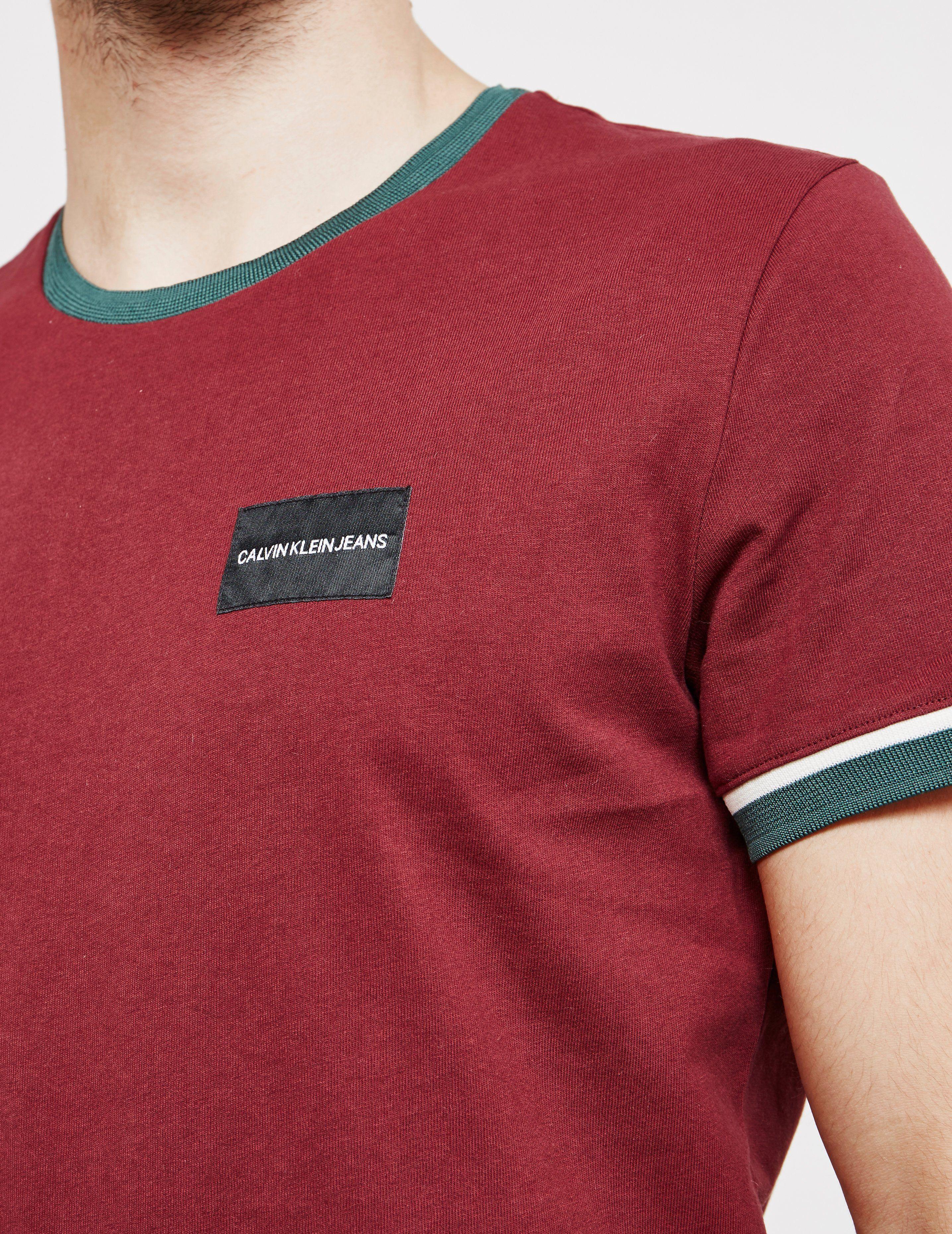 Calvin Klein Short Sleeve Ringer T-Shirt