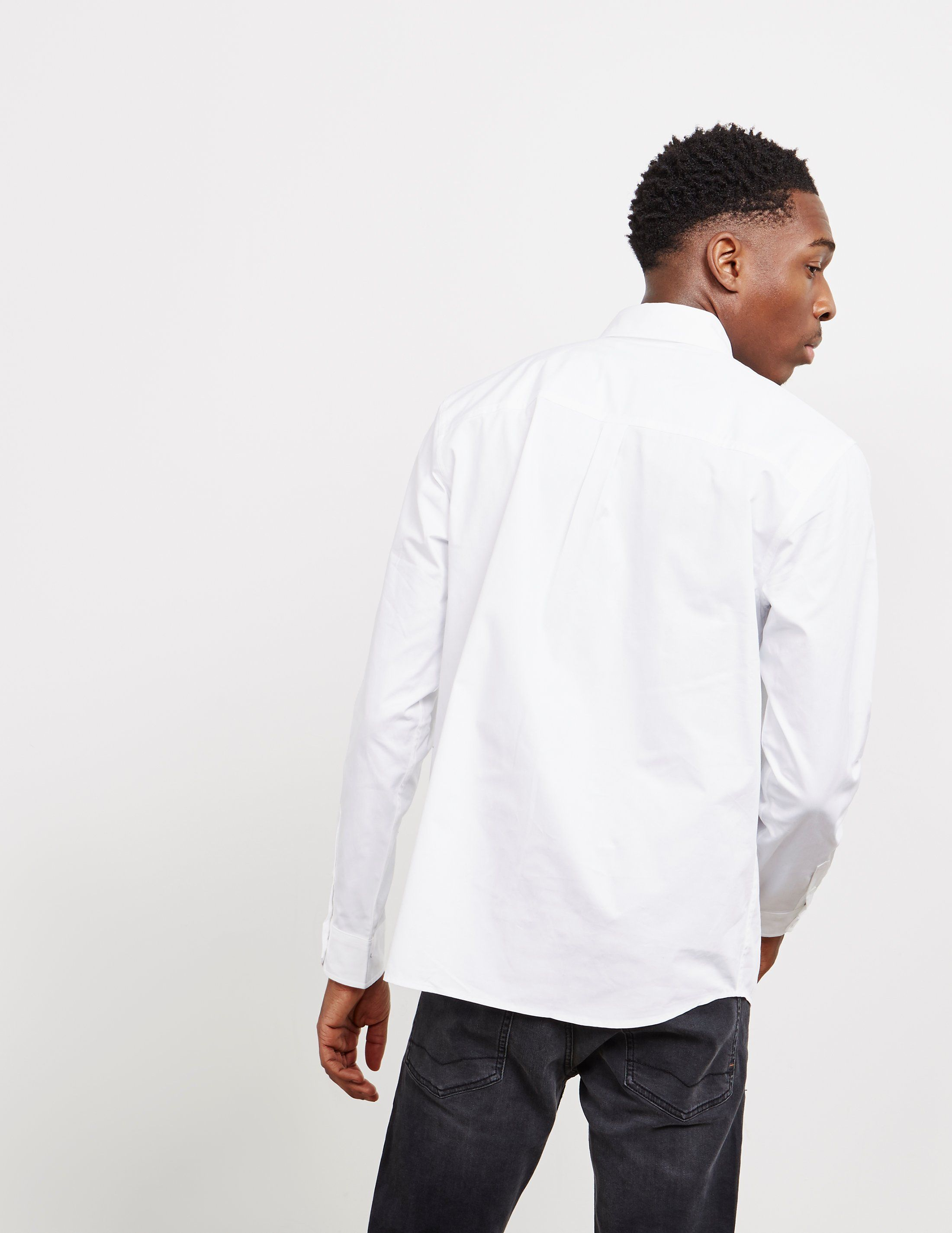 Calvin Klein Side Logo Long Sleeve Shirt - Online Exclusive