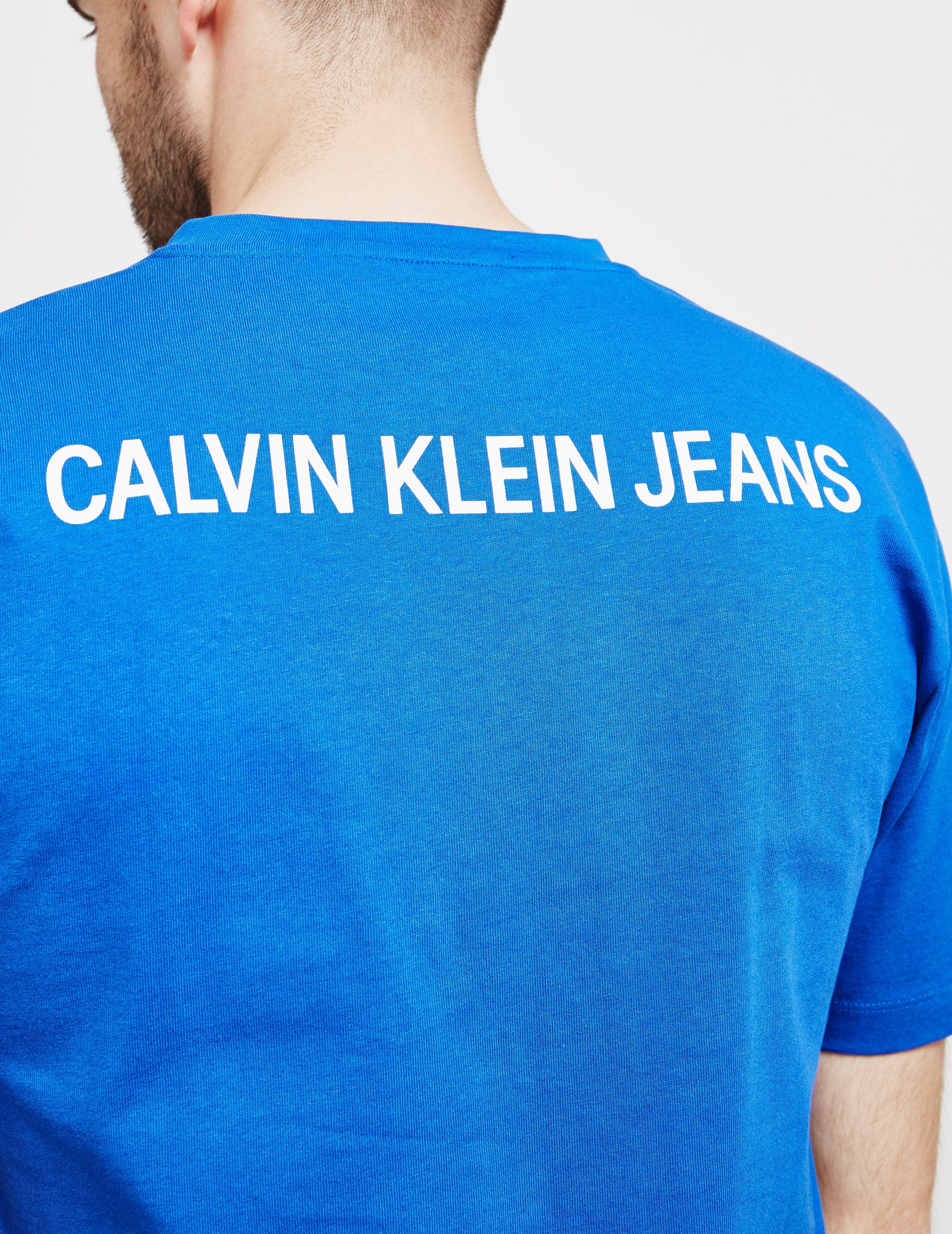 Calvin Klein Institutional Back Logo Short Sleeve T-Shirt