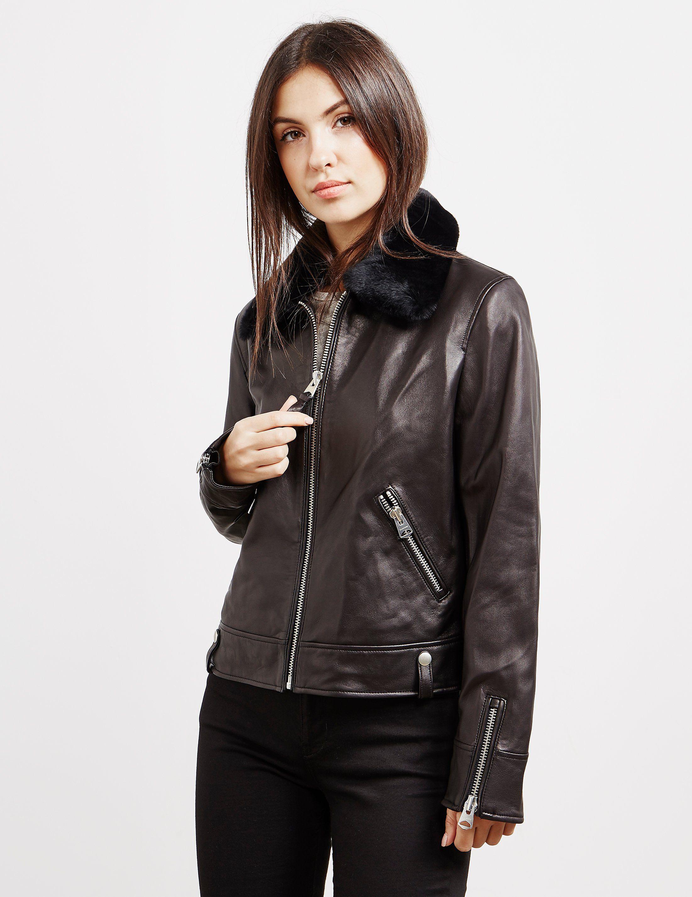 a5995b214c9e6a ... authentic mackage maryse leather jacket tessuti 285ad 5c39d