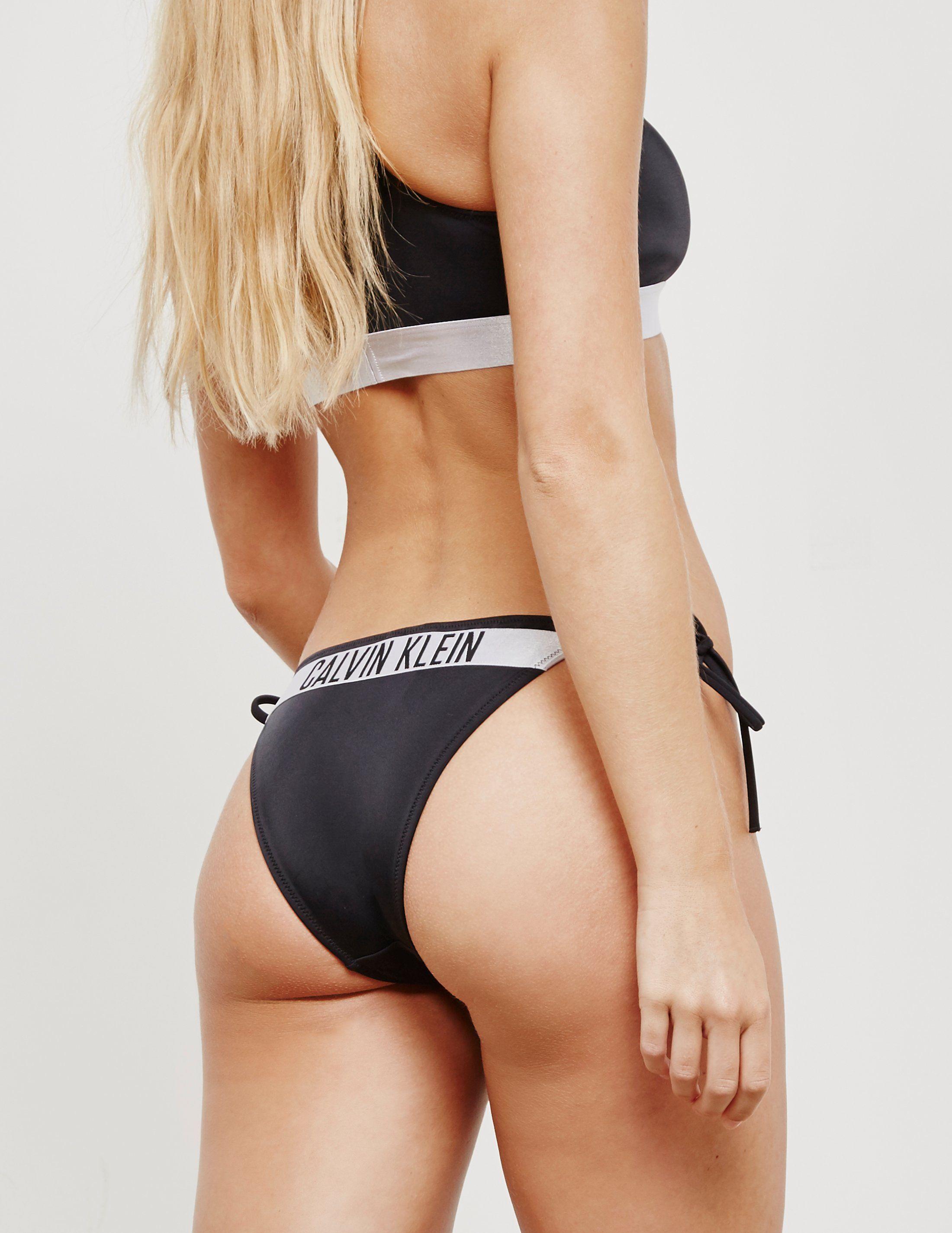 Calvin Klein Swim String Tape Bikini Bottoms - Online Exclusive