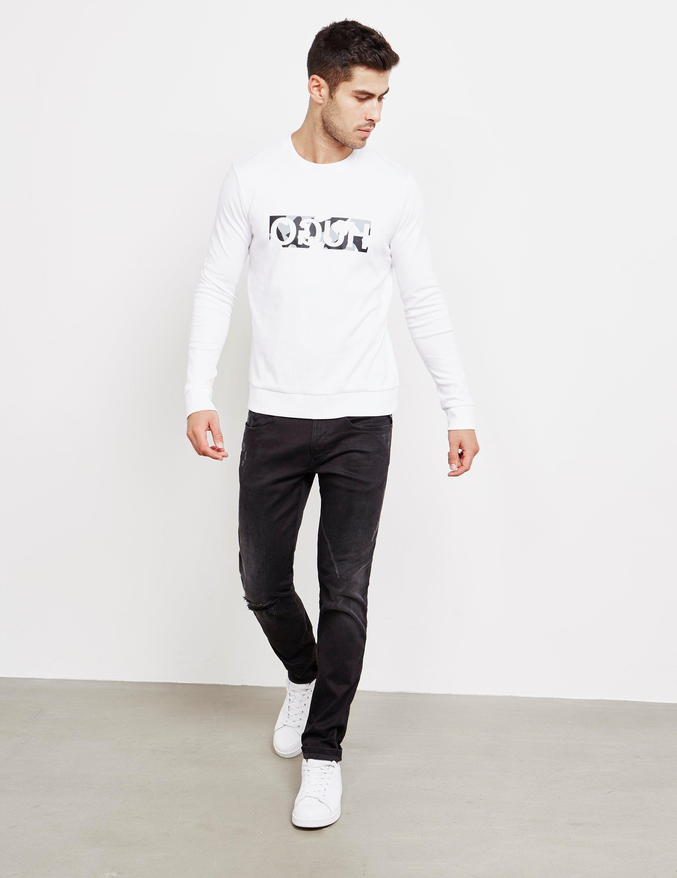 HUGO Dicargo Camo Sweatshirt