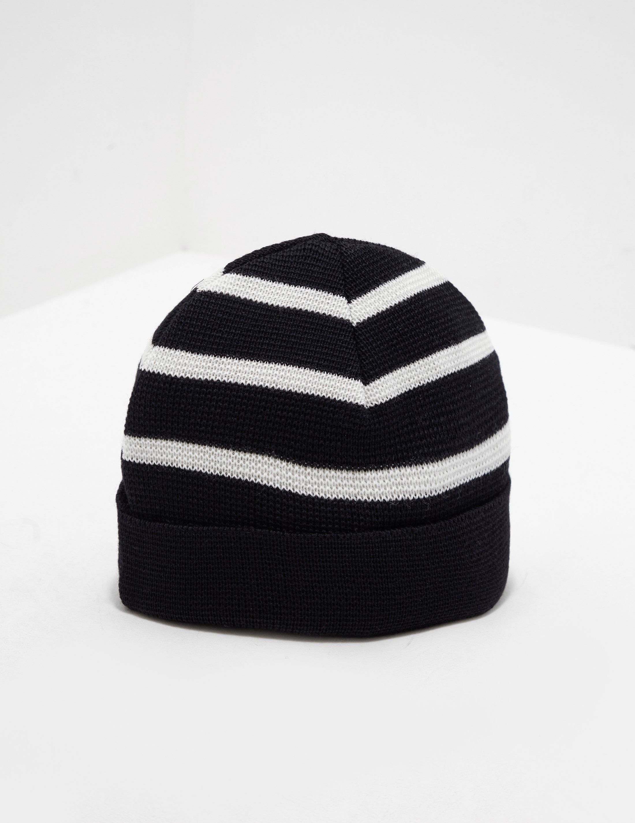 AMI Paris Striped Beanie