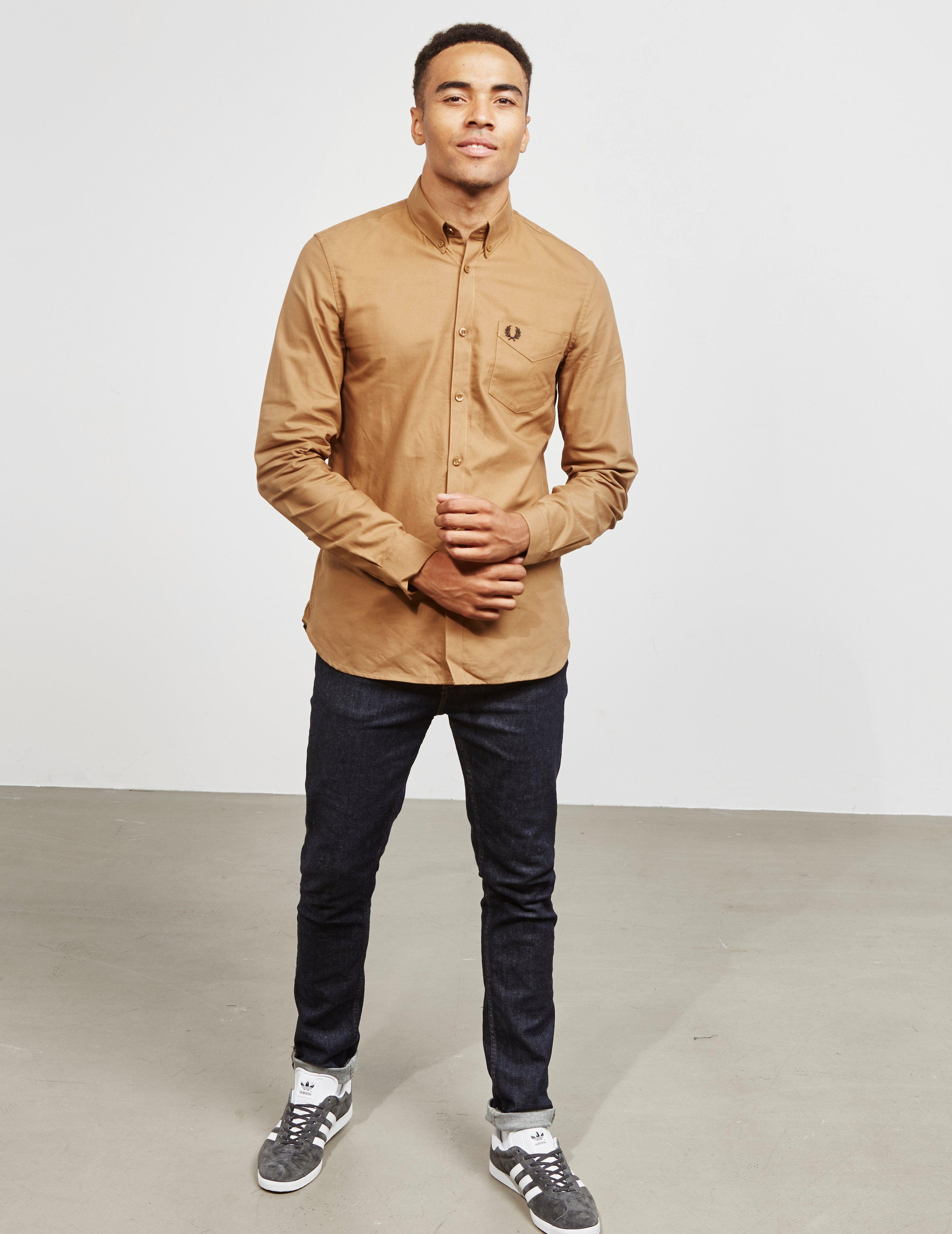 Fred Perry Classic Oxford Long Sleeve Shirt