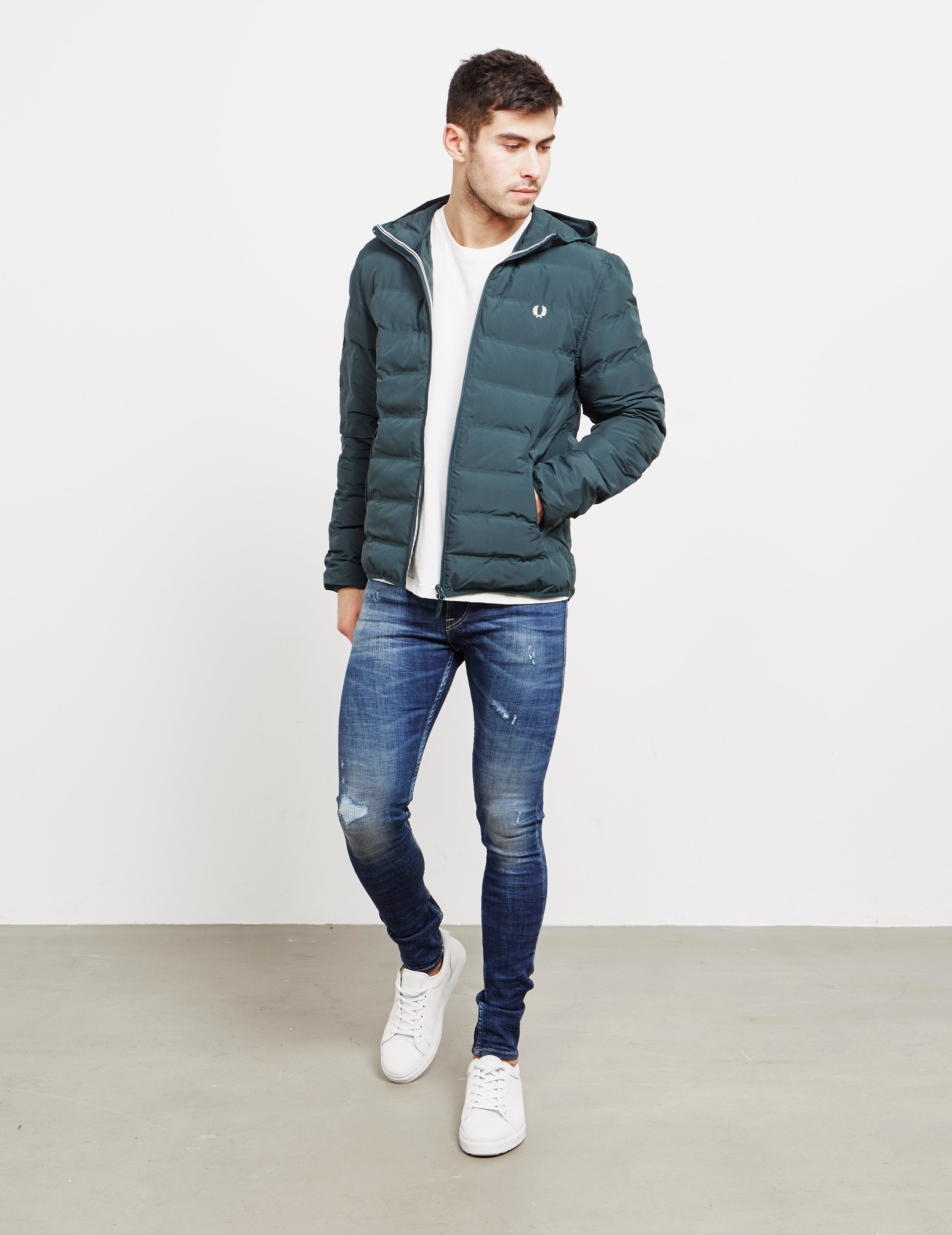 Fred Perry Bubble Hooded Jacket