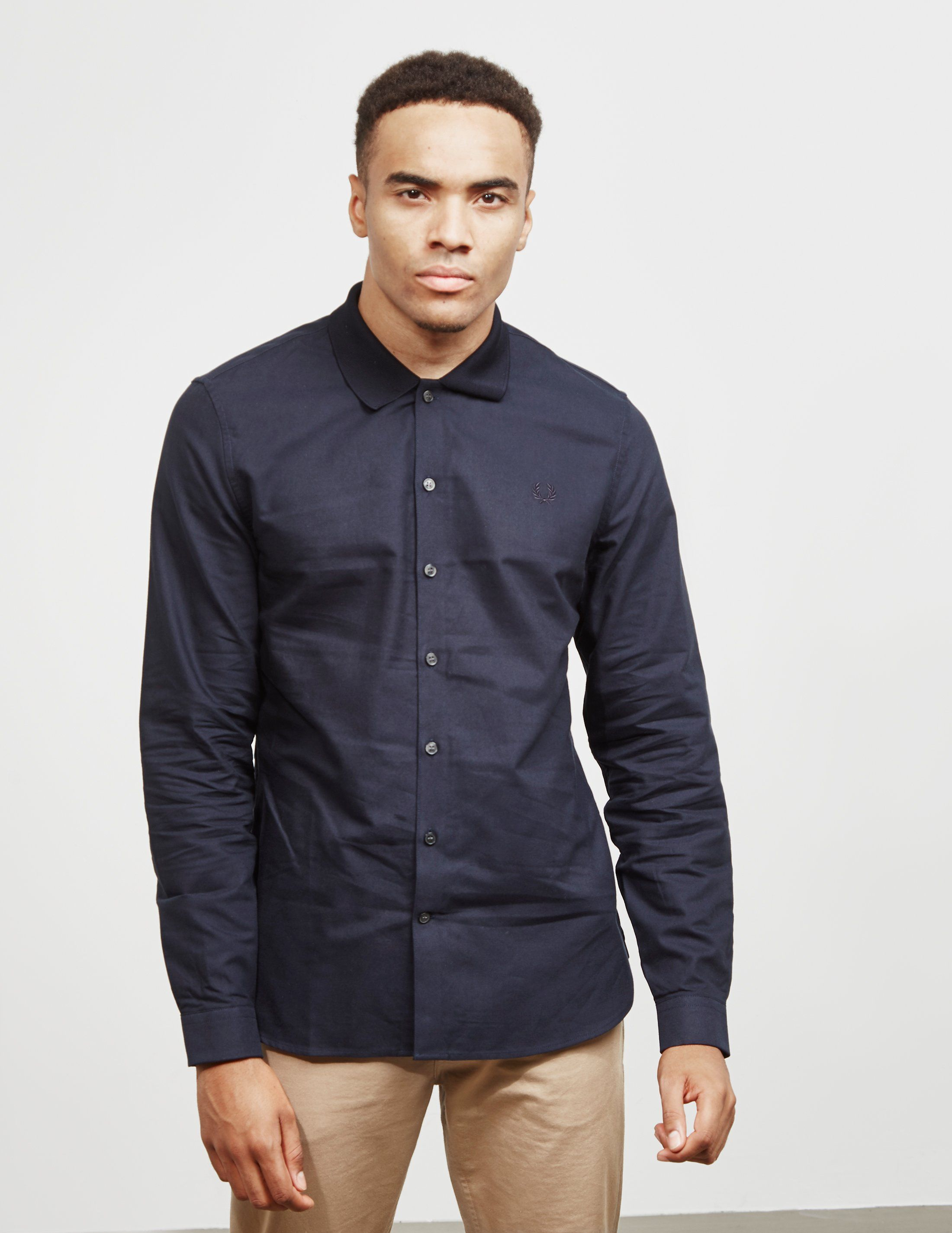 Fred Perry Knit Collar Oxford Shirt