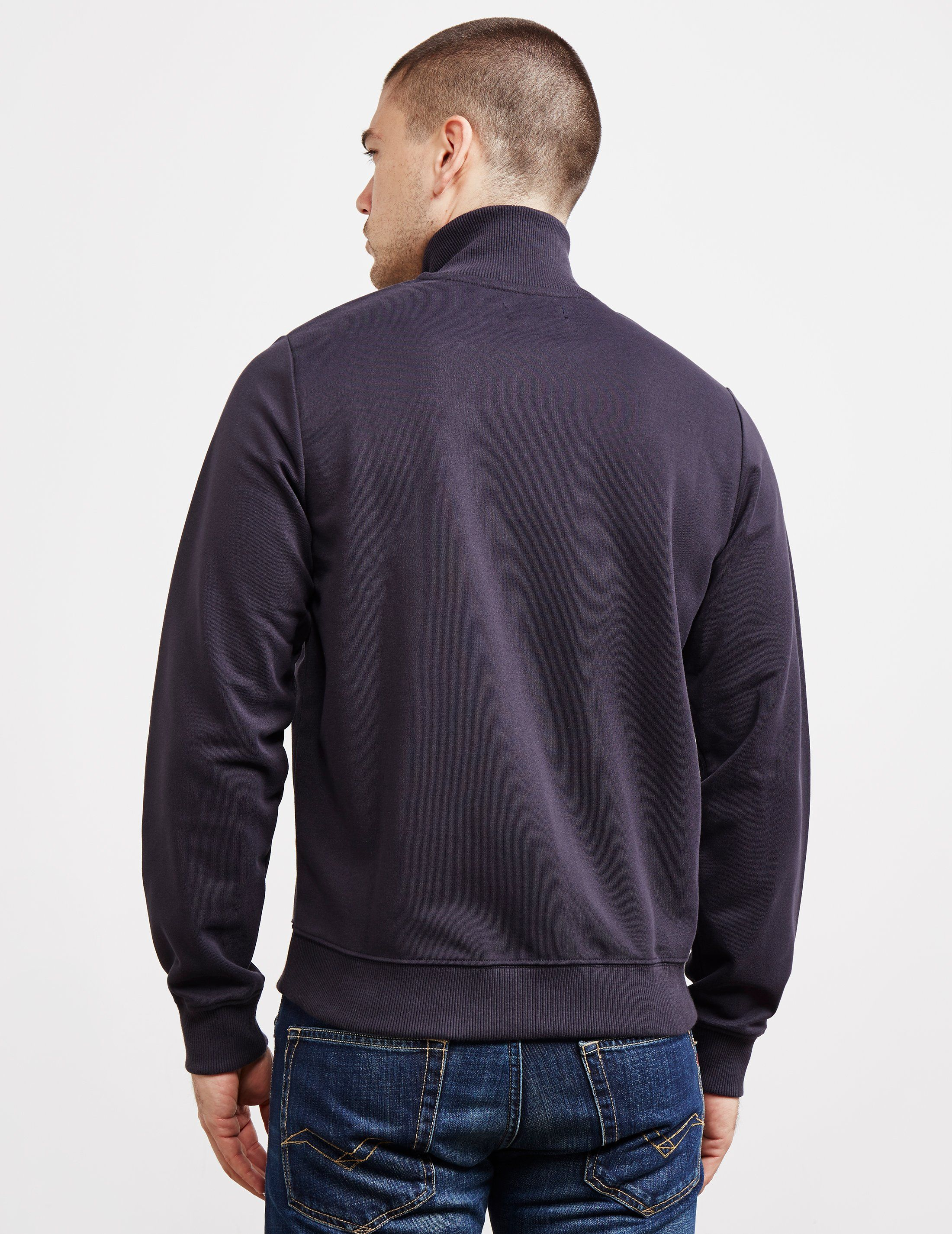 Fred Perry Panelled Fleece Track Top