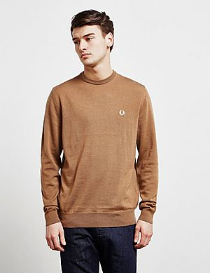 Jumper Merino Knitted Fred Fred Perry Perry qWwXIP8pqt