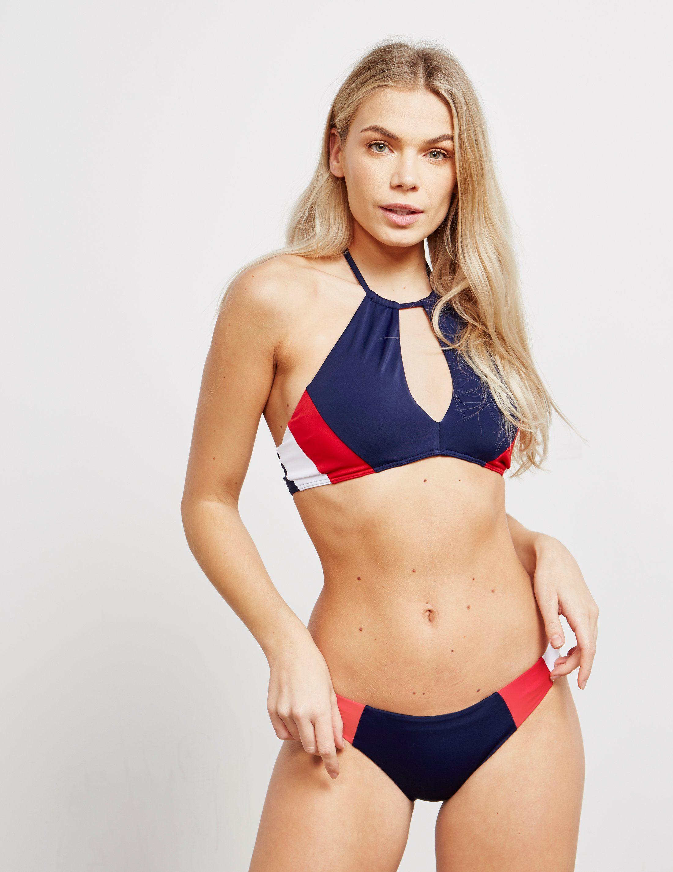 Tommy Hilfiger Swim Crop Bikini Top - Online Exclusive