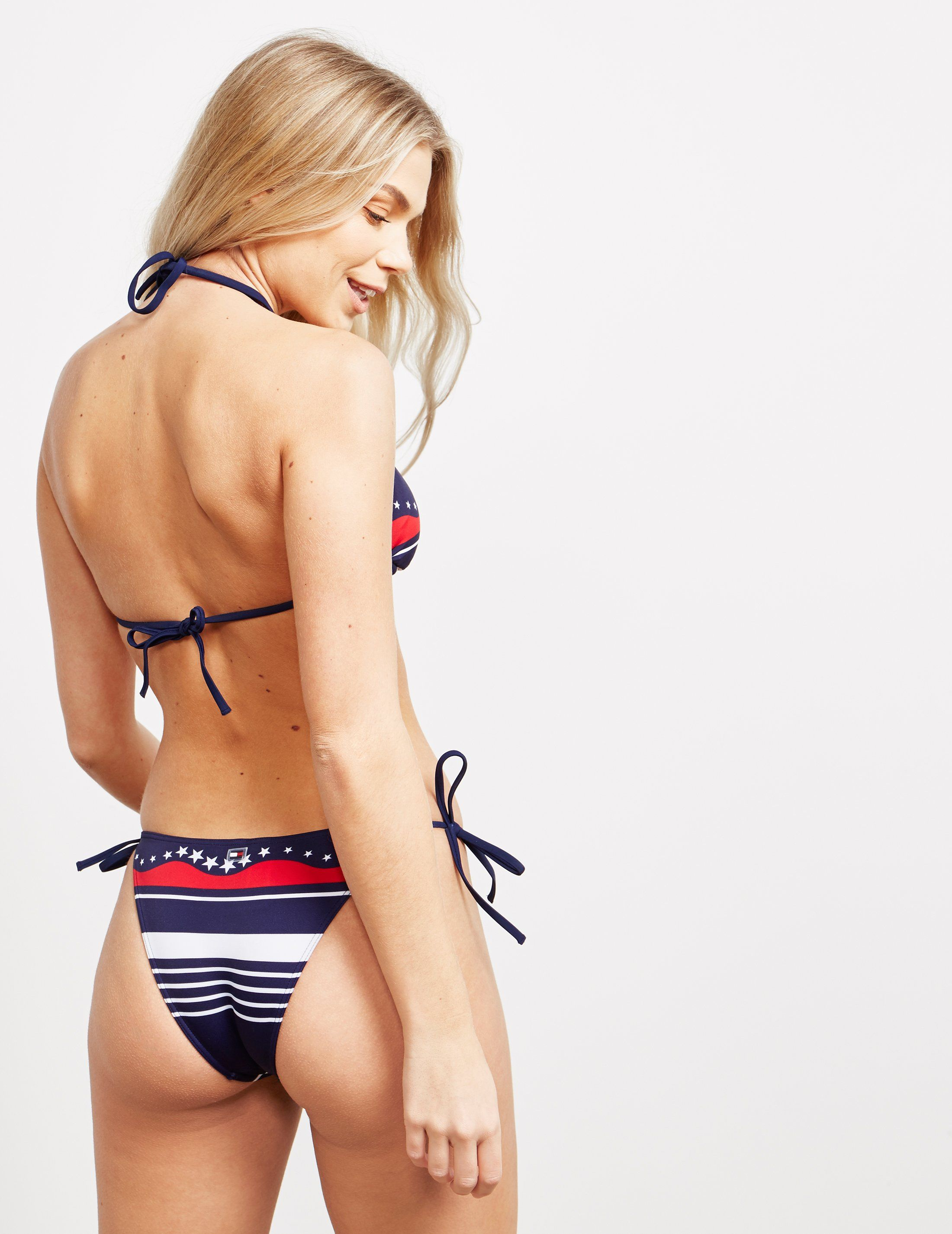Tommy Hilfiger Swim Star Triangle Bikini Top - Online Exclusive