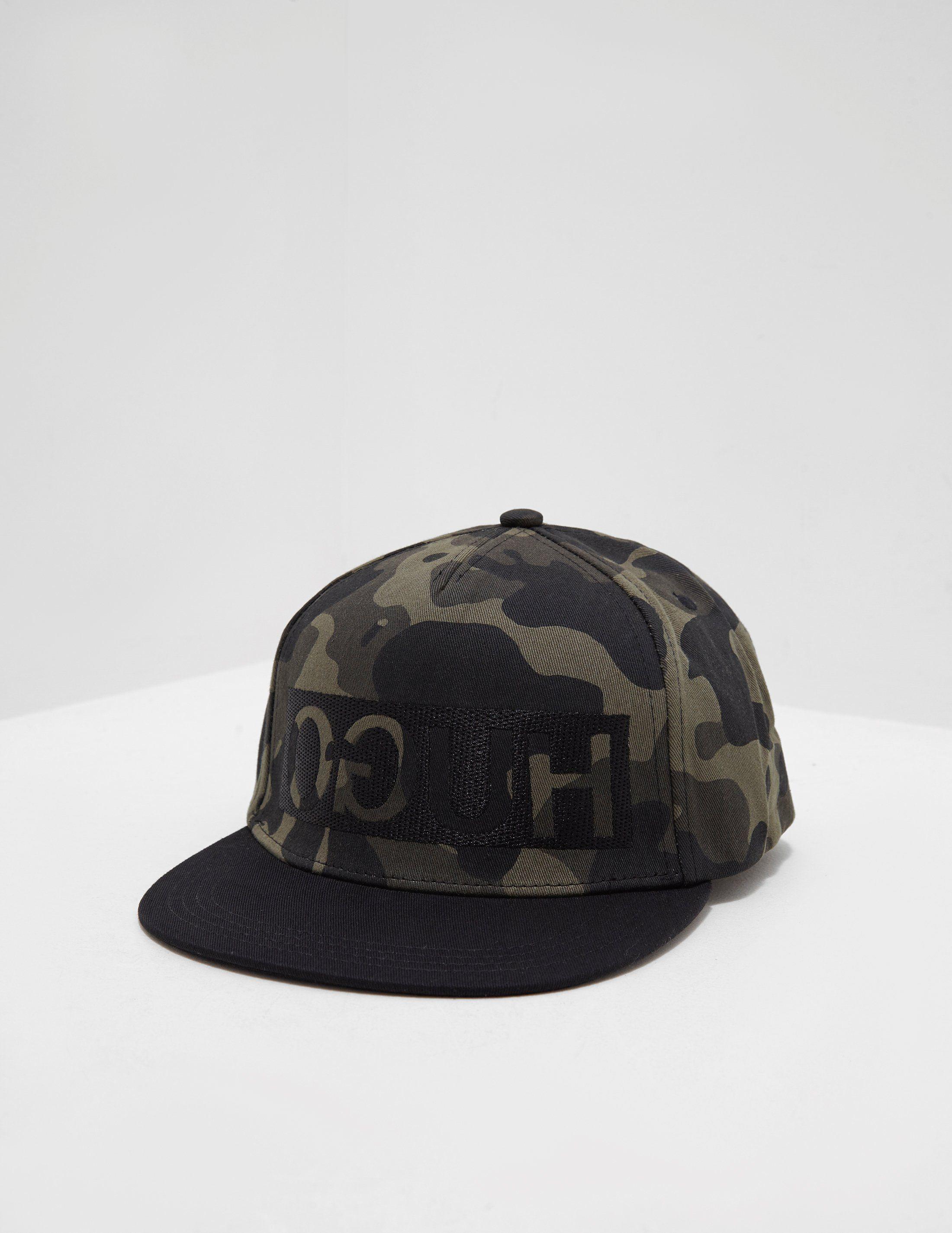 HUGO Logo Snapback Cap