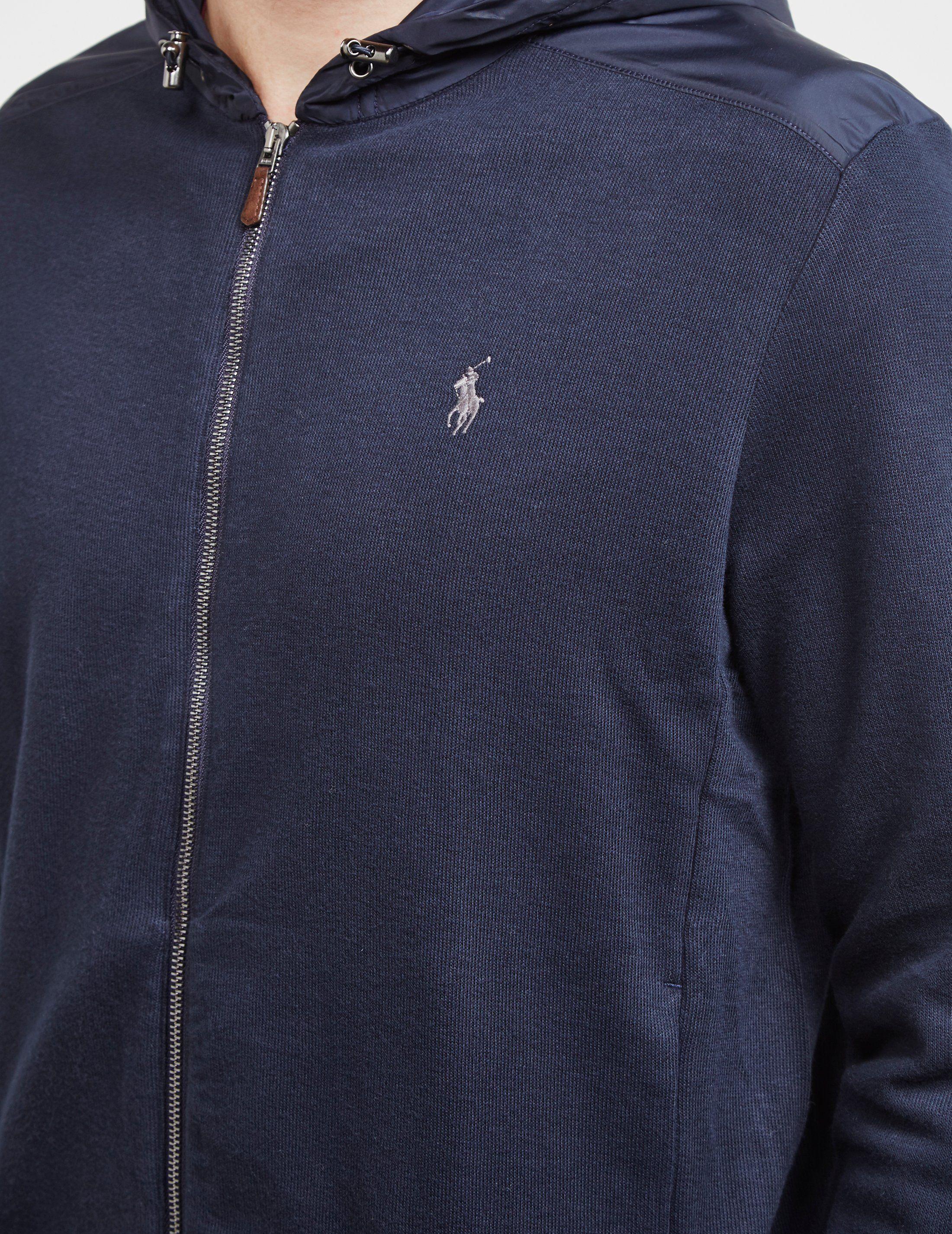 Polo Ralph Lauren Full Zip Knit Hoodie
