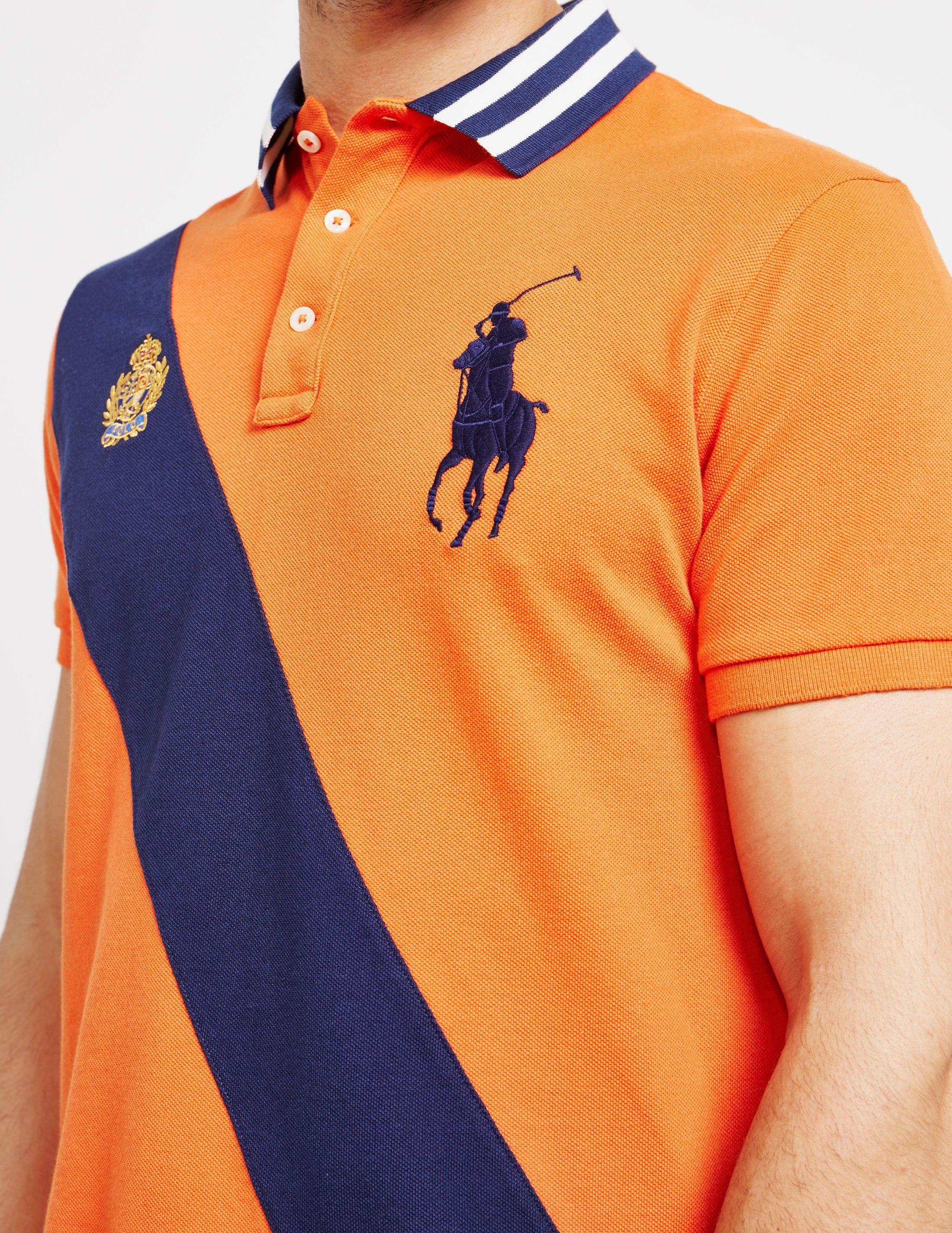 Polo Ralph Lauren Embroidered Crest Short Sleeve Polo Shirt