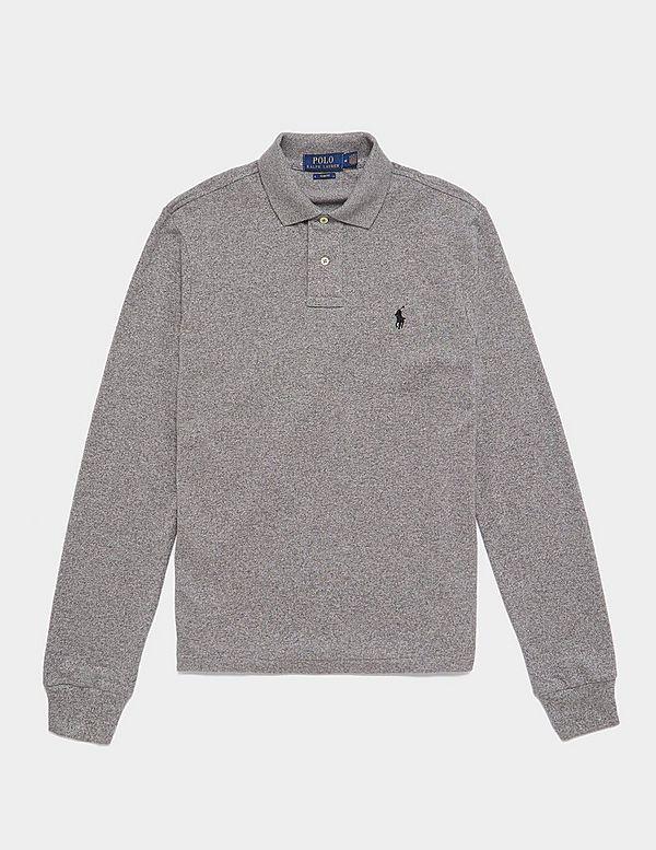 7ac8bd9089e9 Polo Ralph Lauren Mesh Long Sleeve Polo Shirt