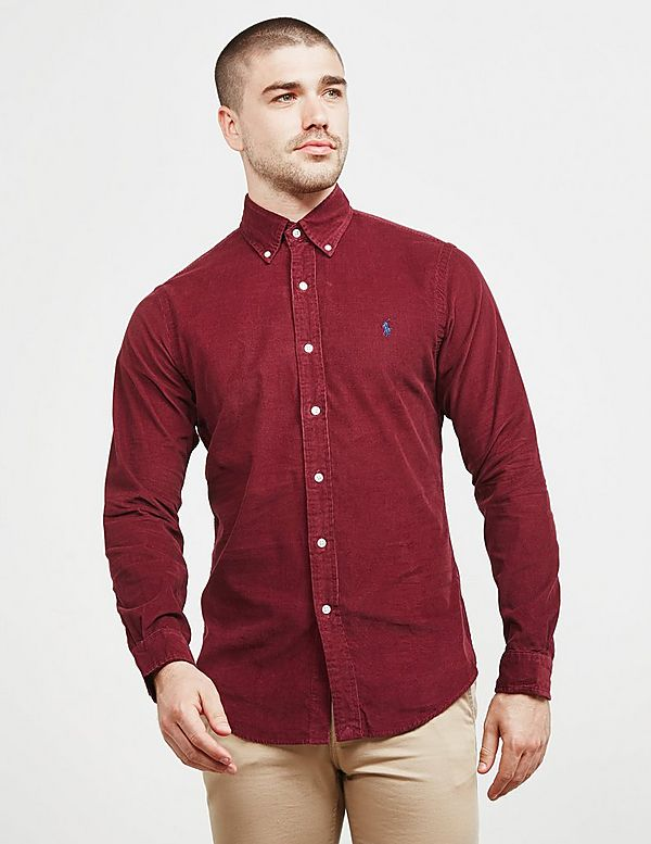 1e0b7f3045514 Polo Ralph Lauren Cord Slim Fit Long Sleeve Shirt