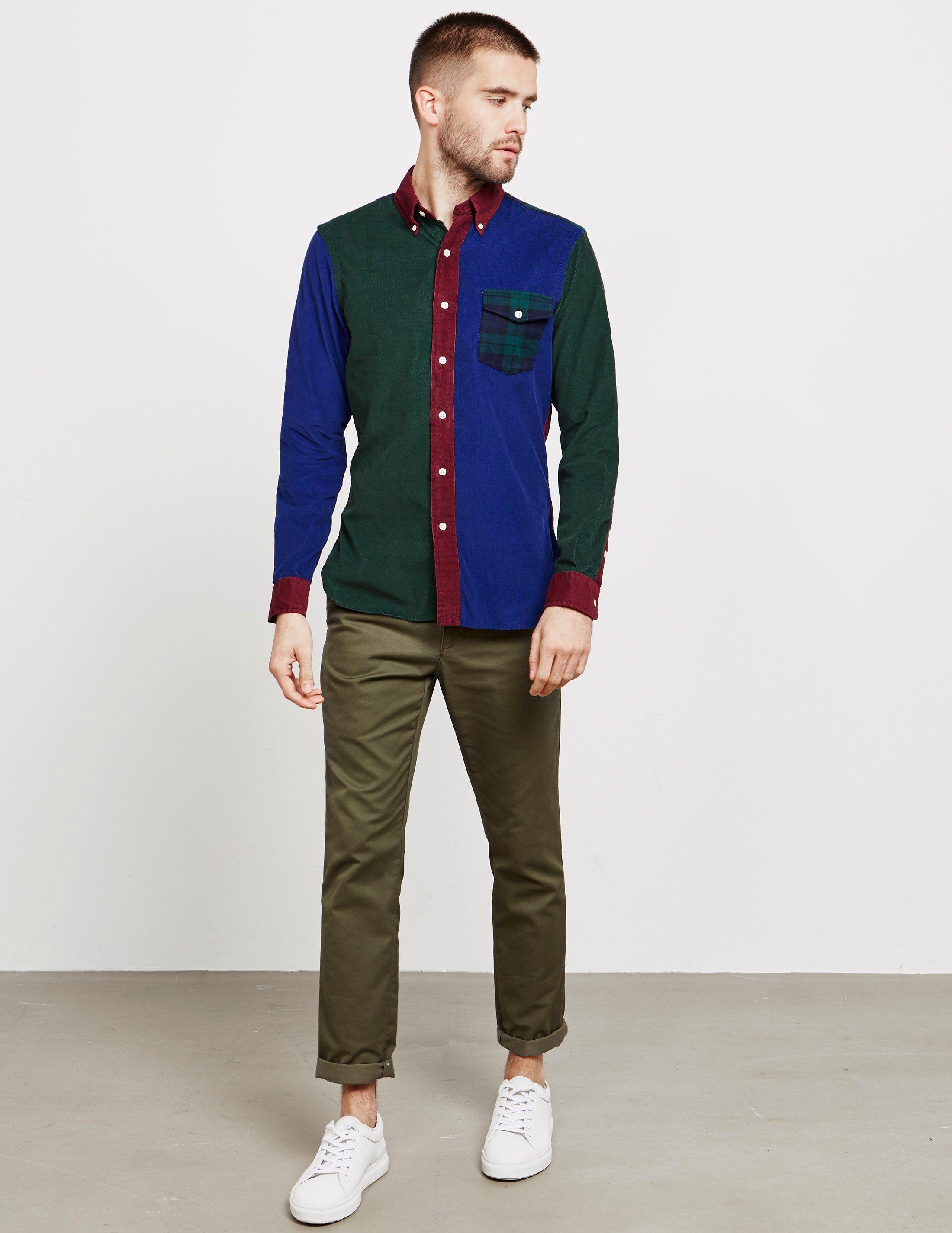 Polo Ralph Lauren Slim Corduroy Long Sleeve Shirt - Online Exclusive