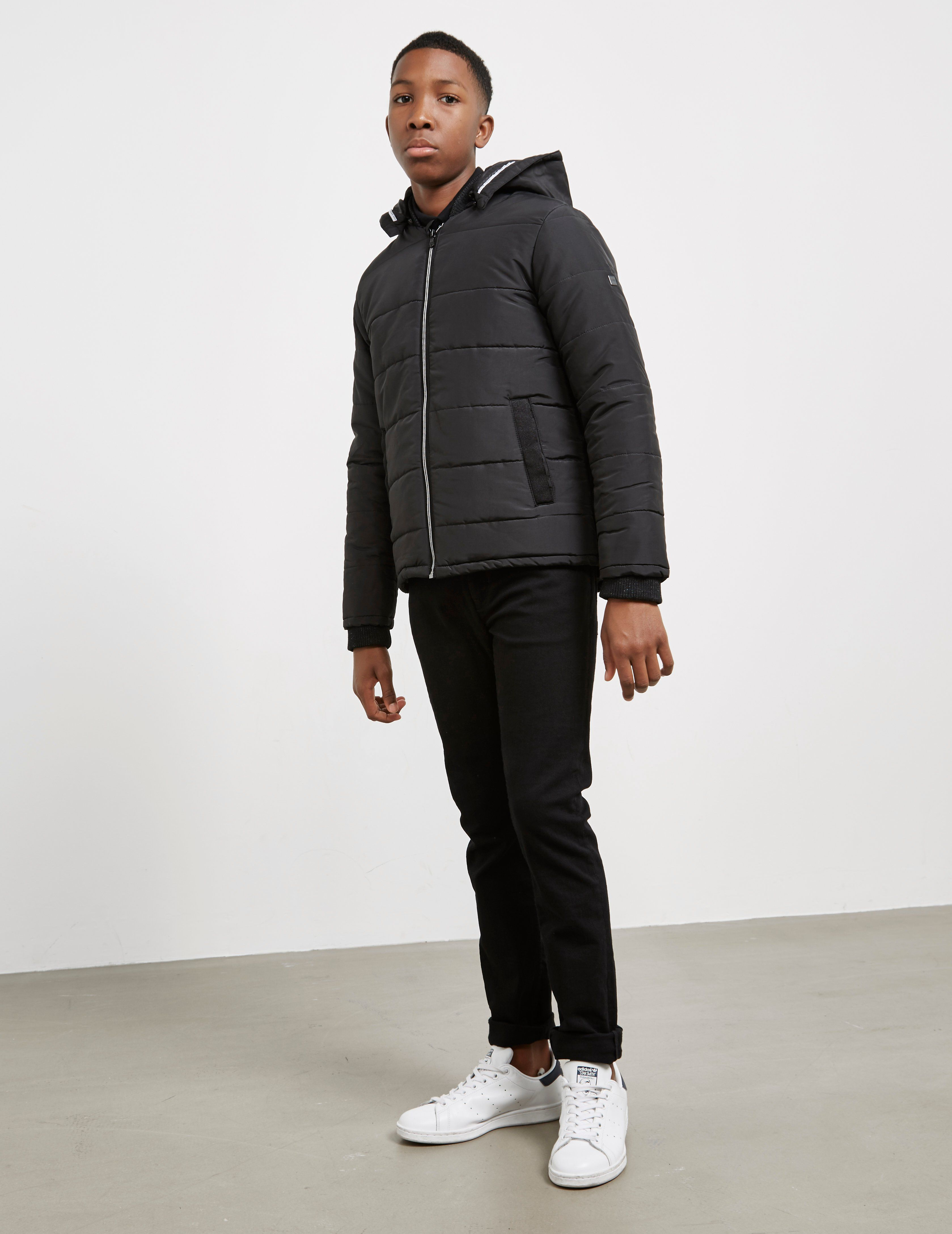 BOSS Embroidered Padded Jacket