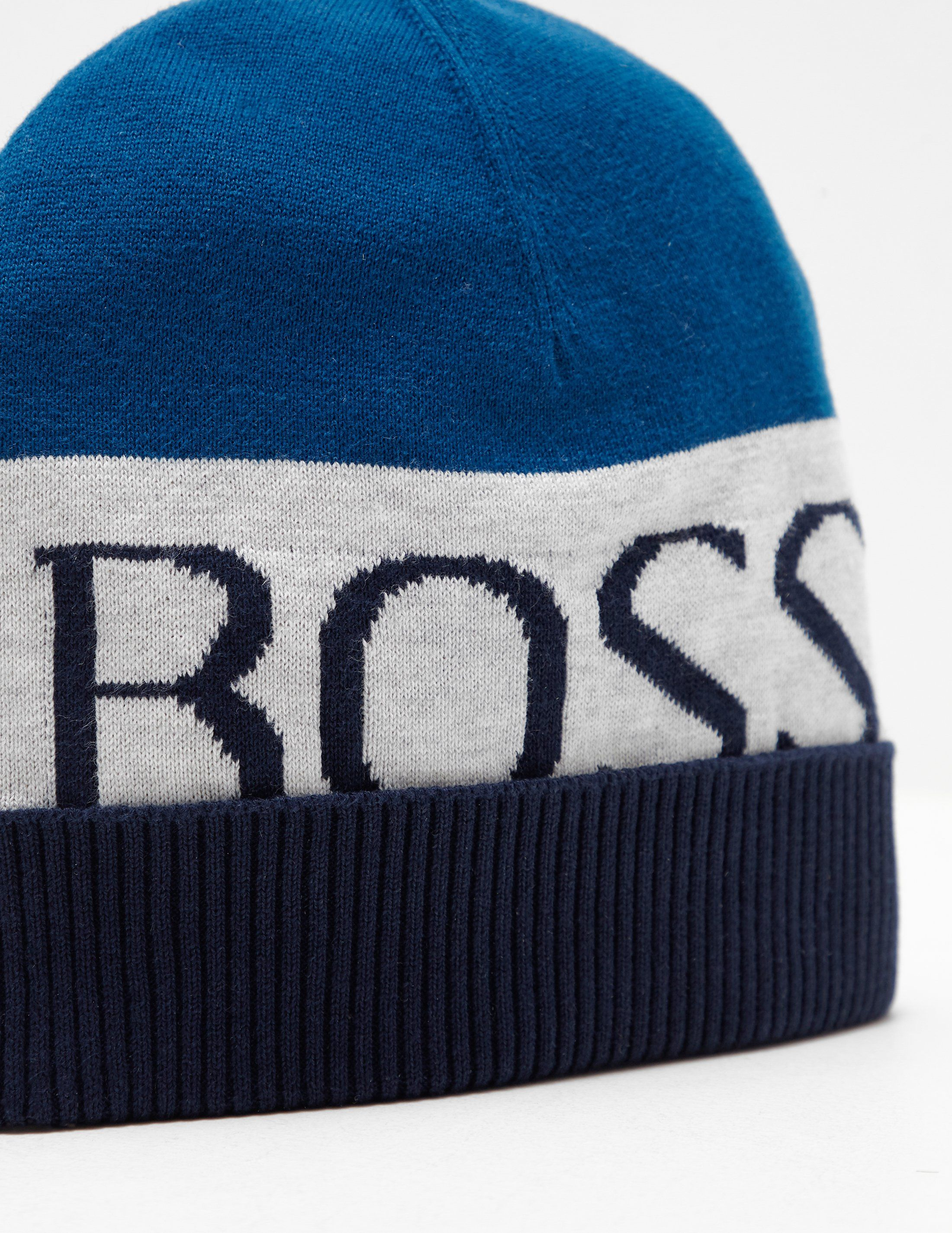 BOSS Logo Beanie - Online Exclusive