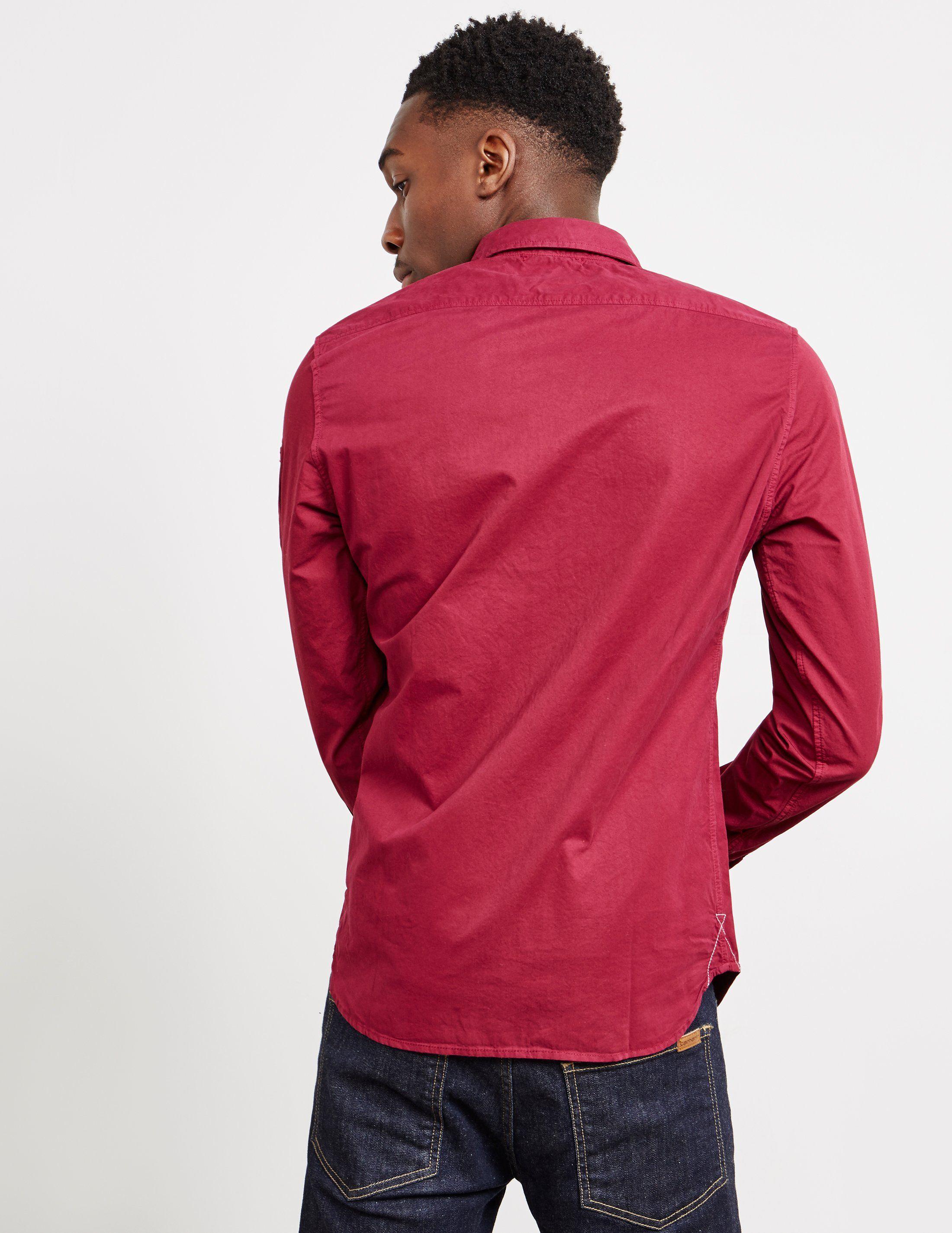 CP Company Double Pocket Long Sleeve Shirt
