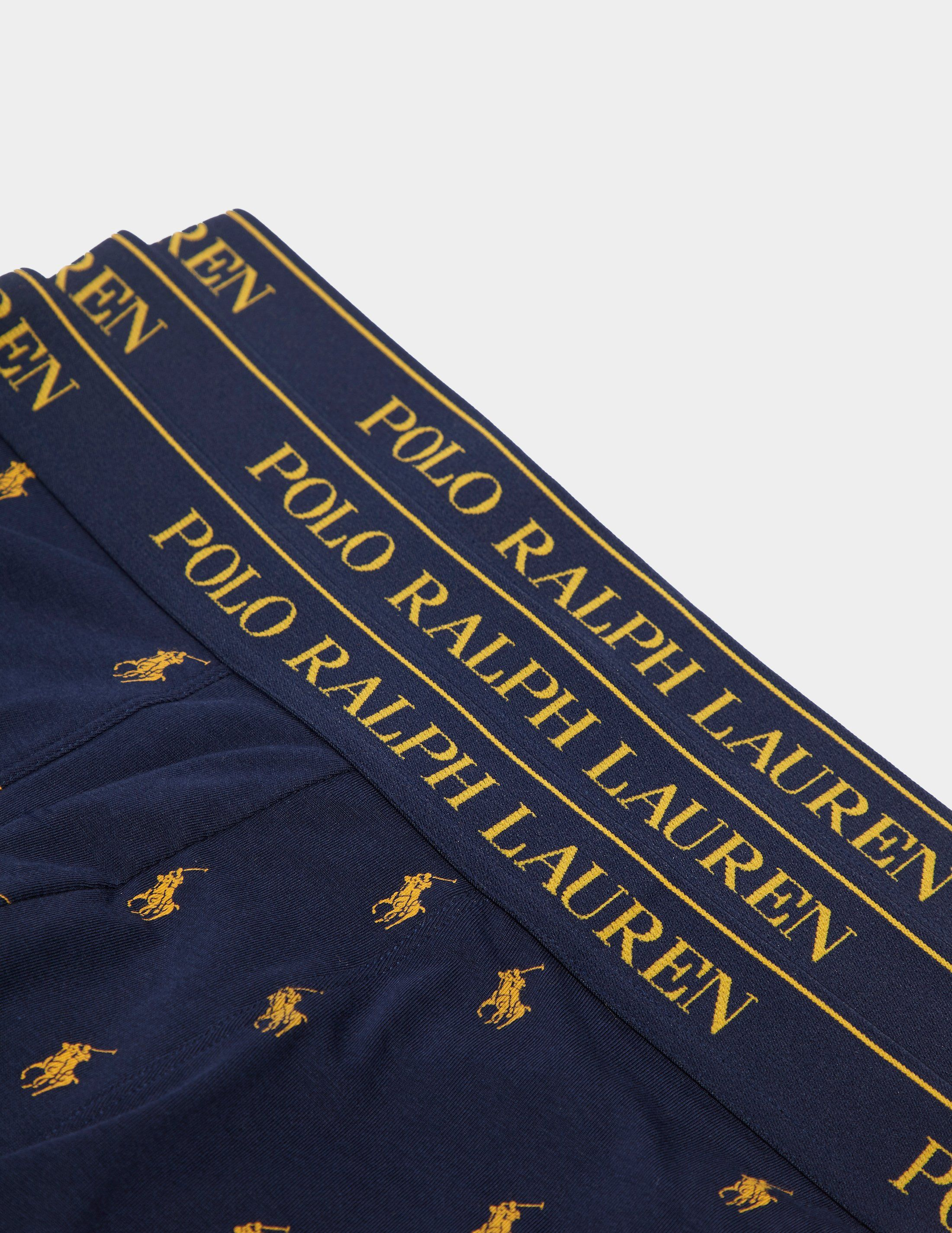 Polo Ralph Lauren 3-Pack All Over Print Boxer Shorts