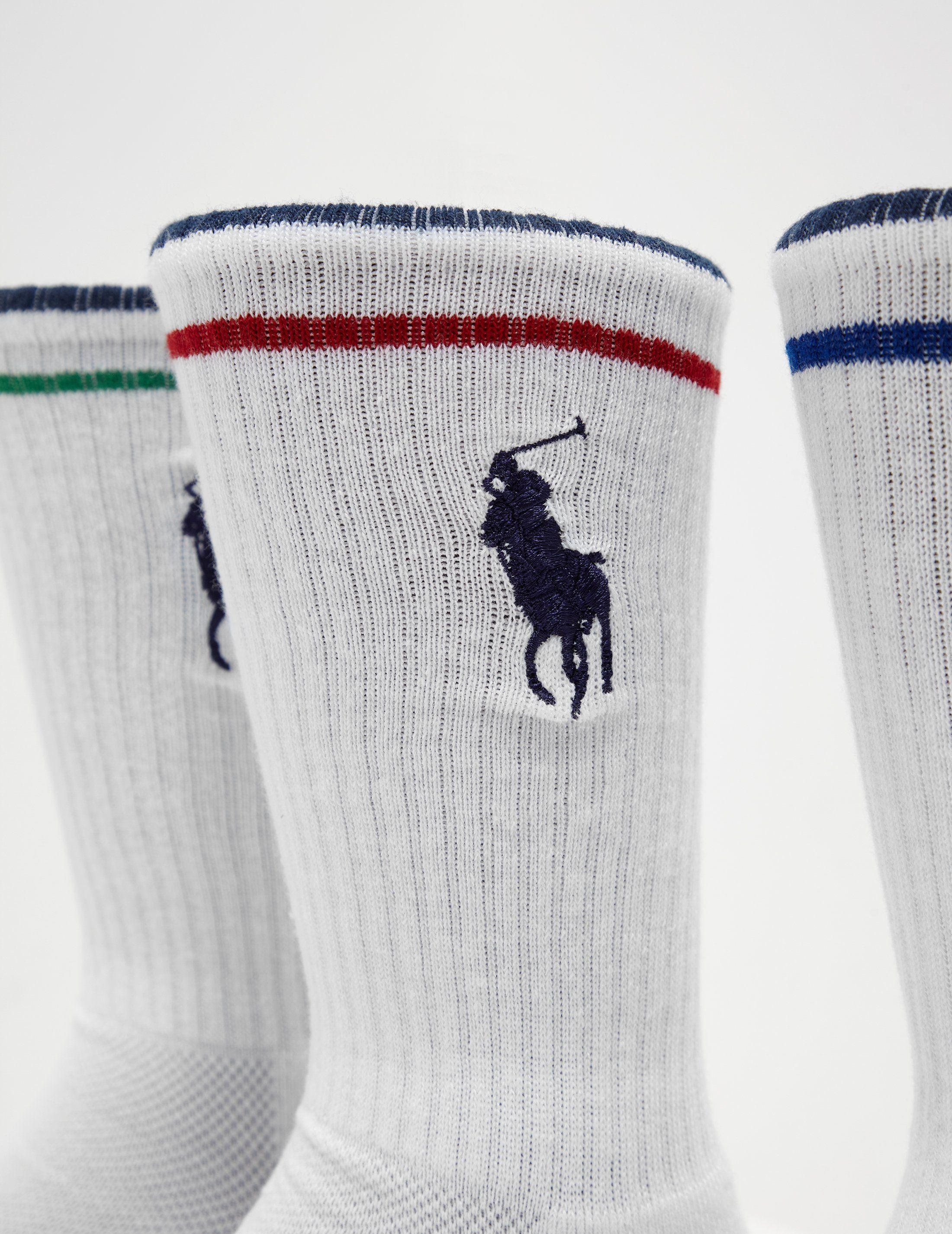 Polo Ralph Lauren 3-Pack Sport Socks