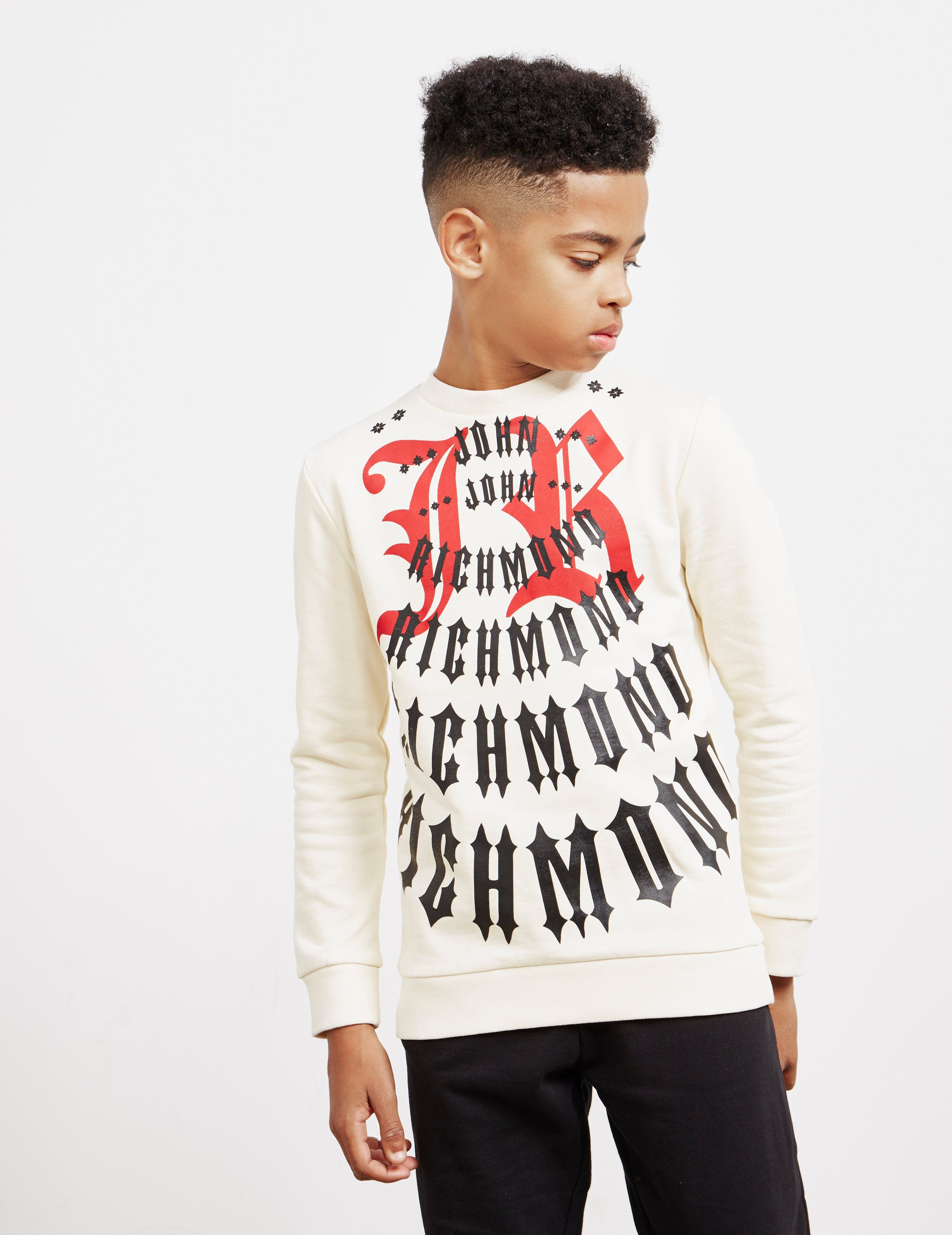 John Richmond Multi Logo Sweatshirt