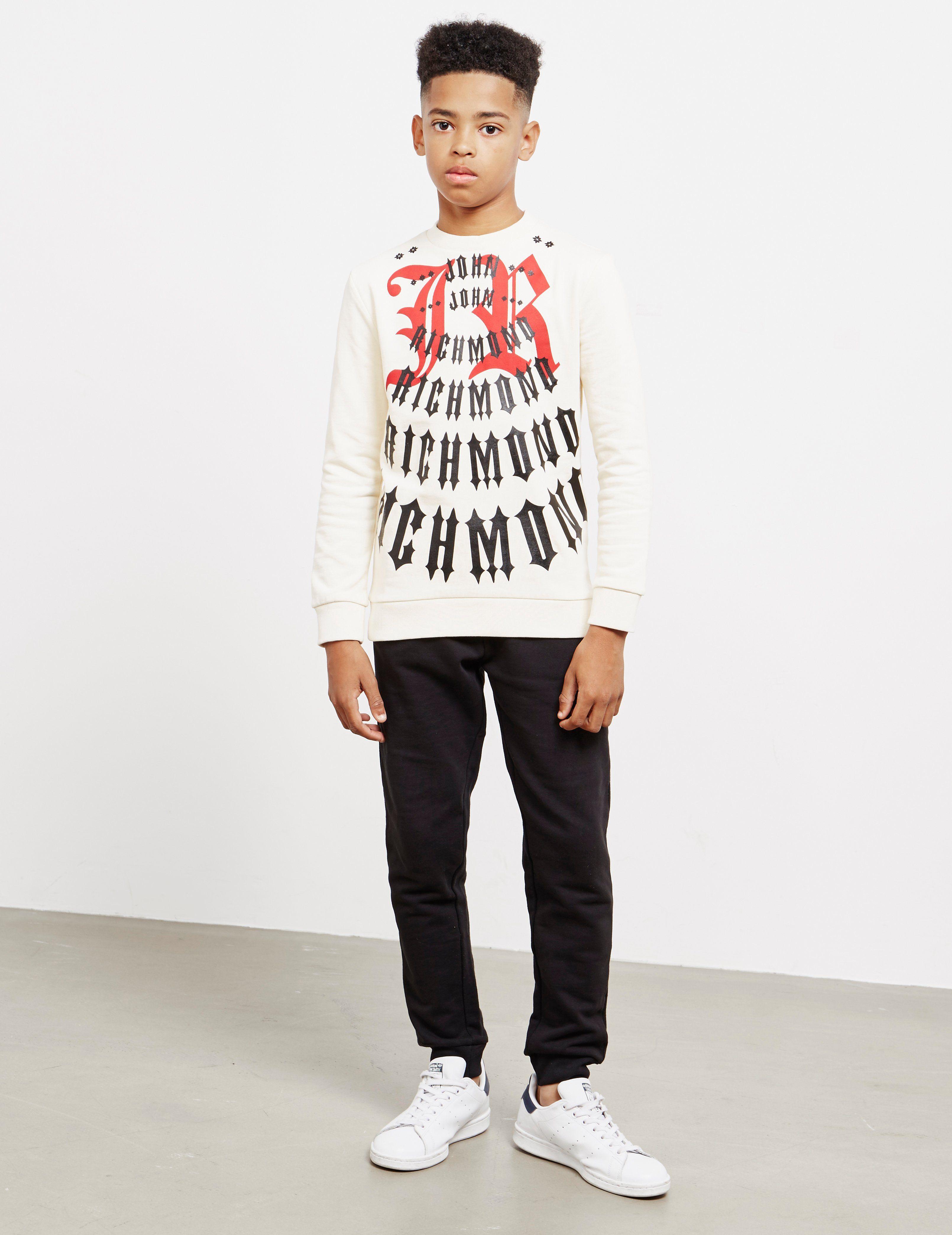 John Richmond Multi Logo Sweatshirt - Online Exclusive