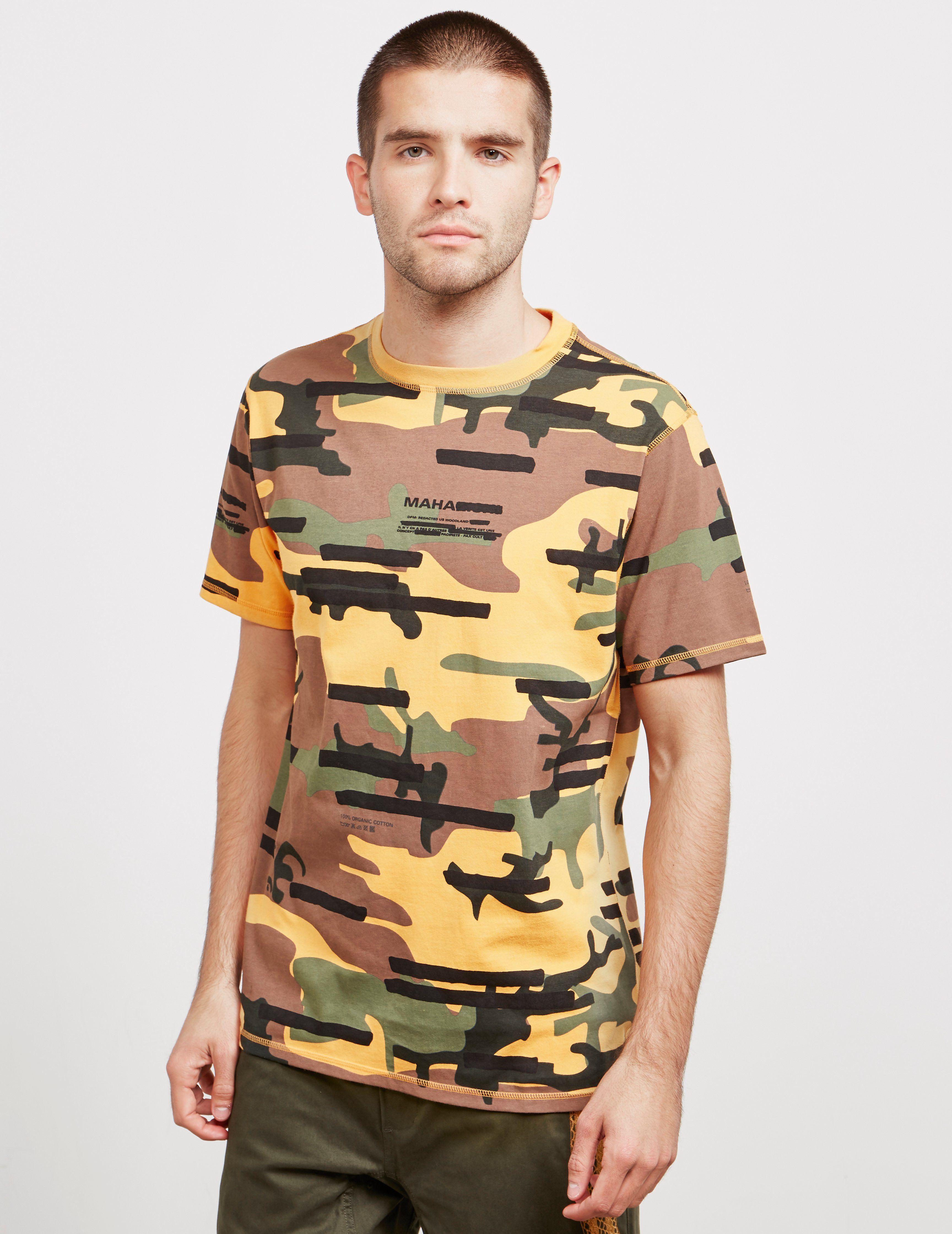 Maharishi Reverse Short Sleeve T-Shirt - Online Exclusive